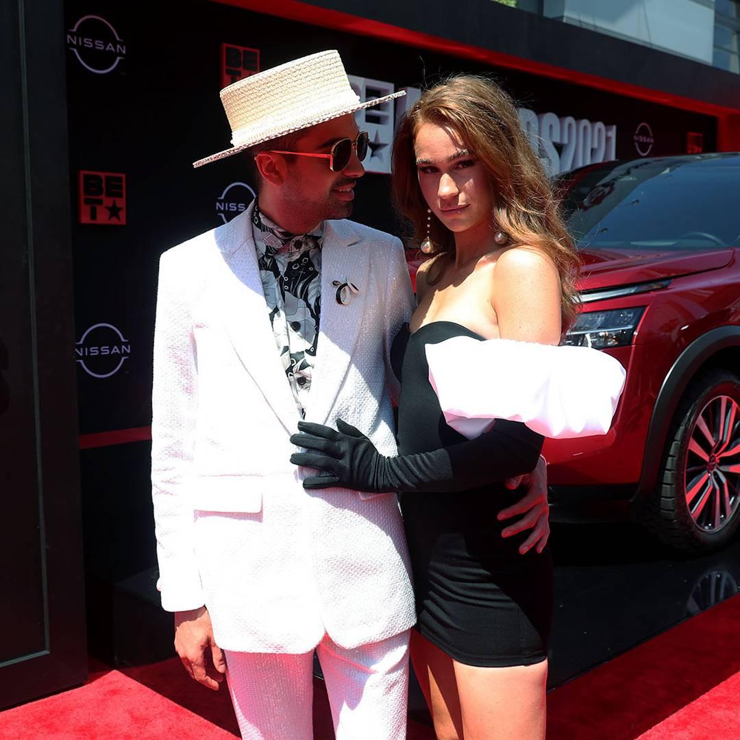 BET Awards 2021  DJ Cassidy & Kelsey Quinn Red Carpet  1080x1080