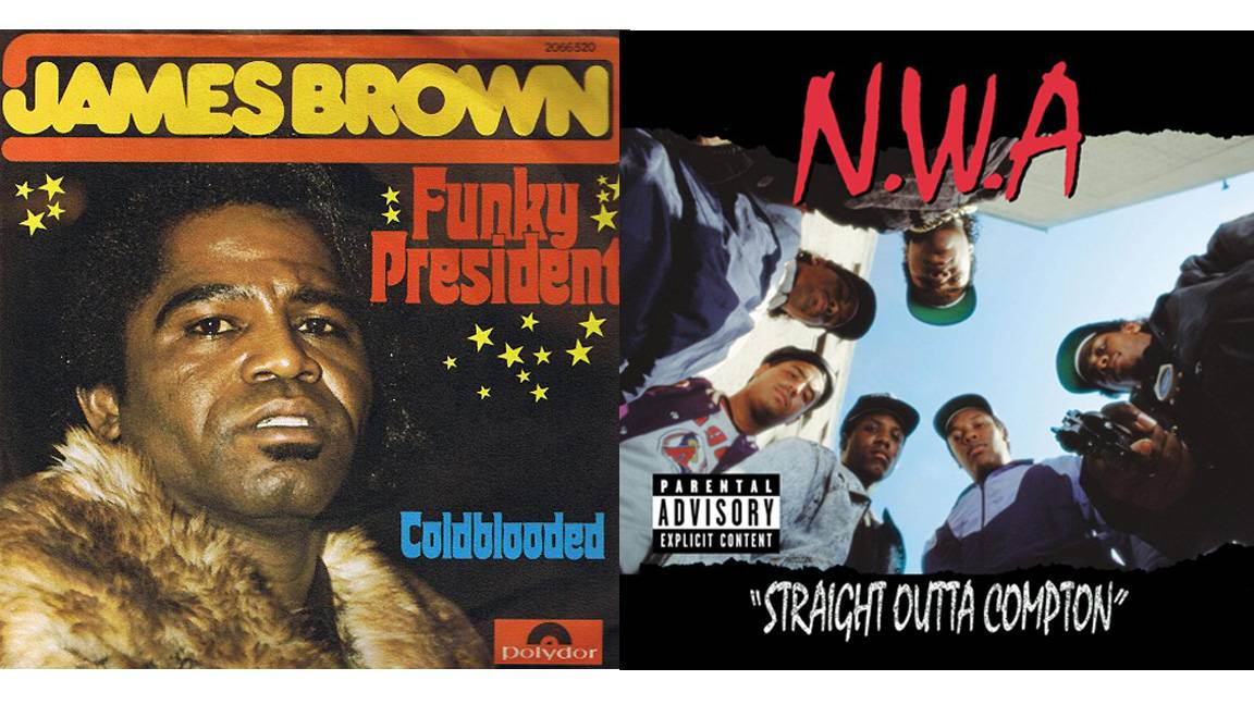 Twenty-five Influential Hip Hop Samples - Rap has been criticized for sampling, i.e. looping, chopping and manipulating snippets of other songs to make something new. But rather than disrespect its source material, sampling frequently brings older artists, often forgotten or underrated, some much-needed attention and income. In many ways, hip hop's use of sampling helps promote music history ? particularly Black music history. So, in honor of Black History Month, we're taking a look at hip hop's greatest, most influential, most used samples.?Alex Gale(Photos from left: Polydor Records,Ruthless Records)