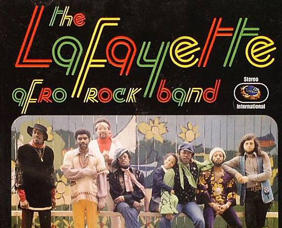 """Lafayette Afro Rock Band, 'Hihache' - The tight drumbeat that opens this heater from French funk troupe Lafayette Afro Rock Band is a quintessential rap break beat sampled byJanet Jackson, LL Cool J, De La Soul, Digital Underground, Naughty by Nature, the Wu-Tang Clan and, perhaps most notably, Biz Markie's """"Nobody Beats the Biz.""""  (Photo: Superclasse)"""