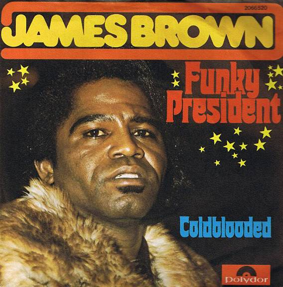"""James Brown, 'Funky President (It's Bad)' - The drums and funky wah-pedal work on this song from J.B.'s 1974 album, Reality, are another favorite of rap beat makers, fuelingkey rap hits including Public Enemy's""""Fight the Power,"""" N.W.A's""""F** the Police"""" and more.  (Photo: Polydor)"""