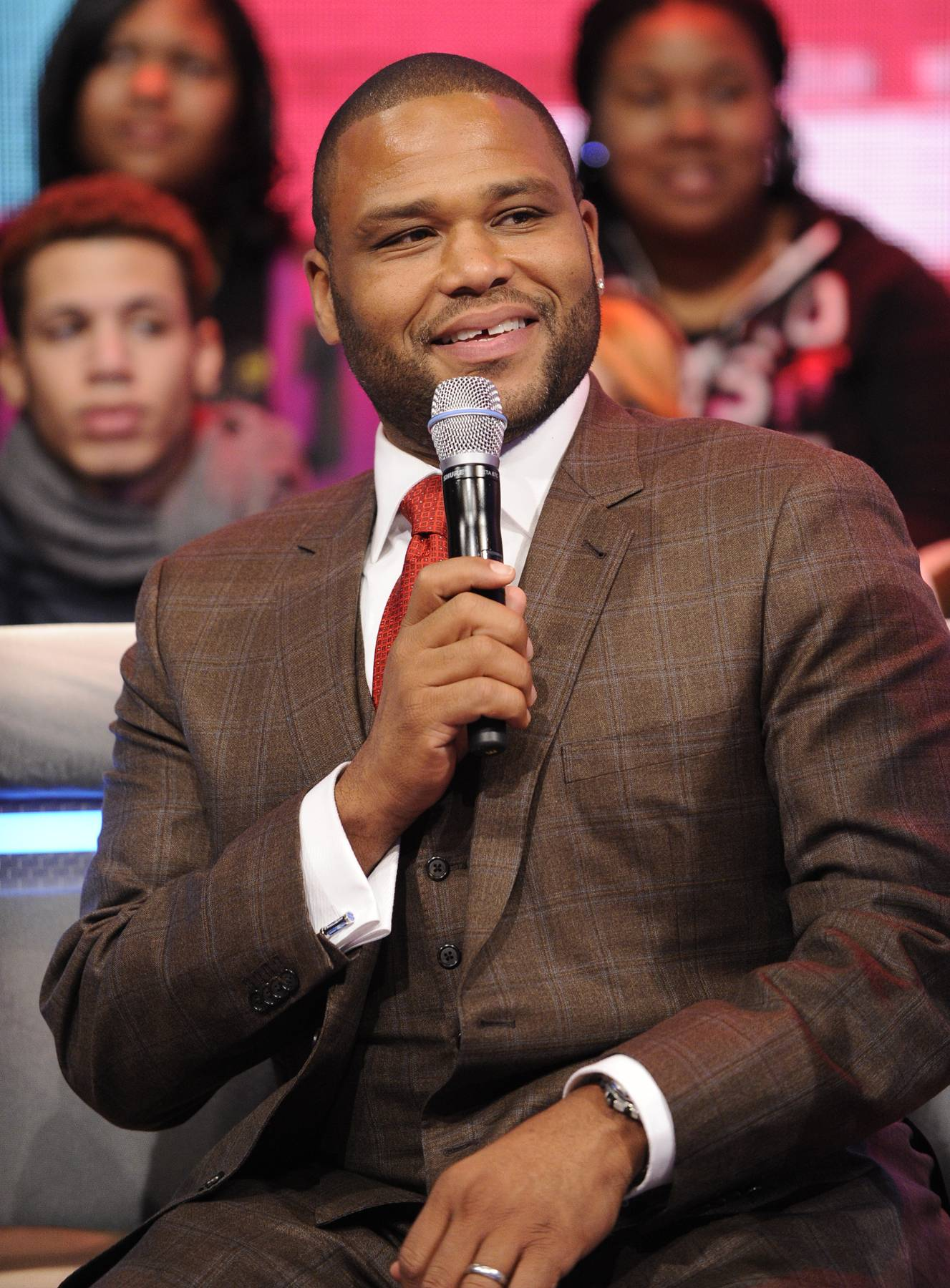 Big Things Poppin' - Ahead of hosting the 2013 Soul Train Awards, this year has proved a busy one for the Compton, California, native. He hosts Anthony Eats America and starred in The Power of Fewand TV Land'sSoul Man.(photo: John Ricard / BET)