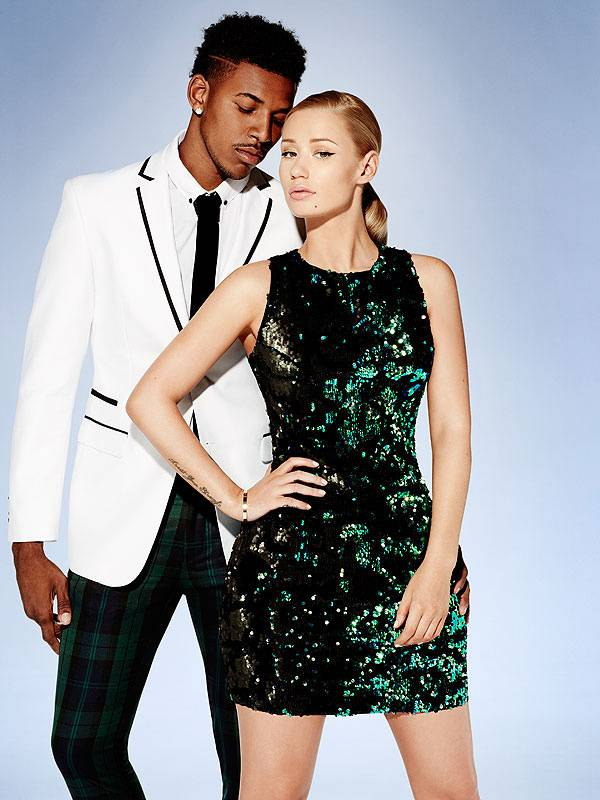 Nick Young and Iggy Azalea are the new faces of a F21 holiday 2014 ad. They look so cute in their photos, pictured above with more here. However, we hope they don't head to splitsville anytime before the holidays. - (Photo: Forever 21)