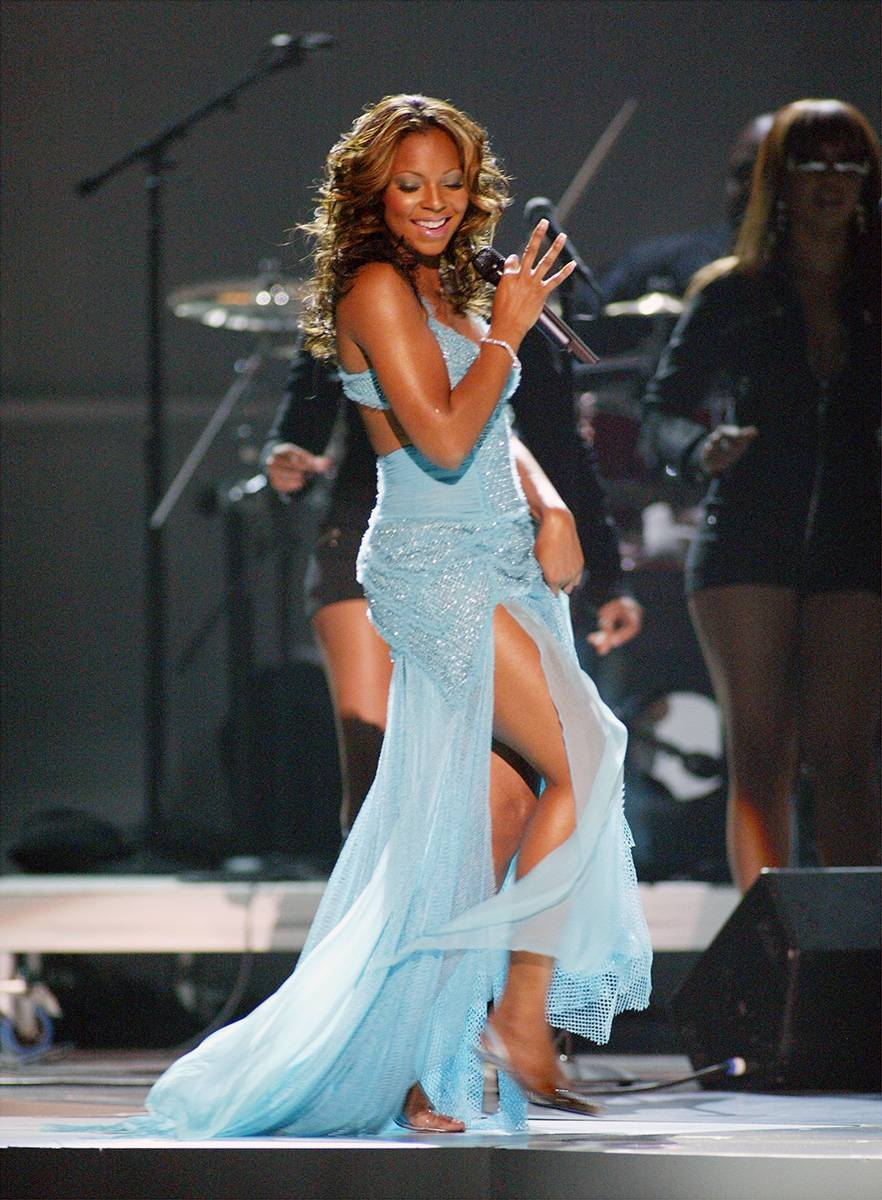 Cinderella Blue - Ashanti channels Cinderella with sass in 2003.(Photo: Frank Micelotta/Getty Images)