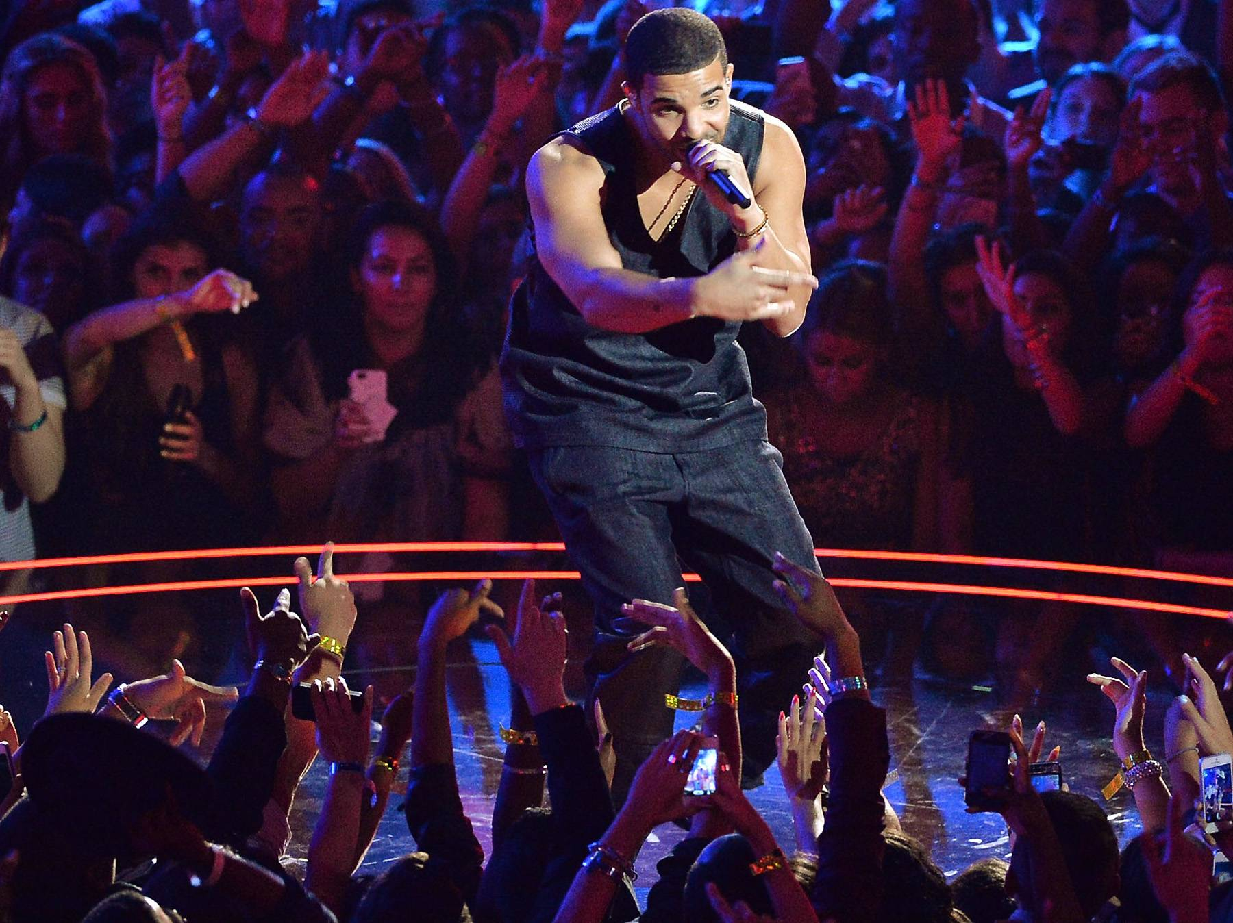 """Best Hip Hop Song of The Year: Drake - """"Started From The Bottom"""" - Drake's bouncy track speaks to the dreamers, up-all-nighters and hustlers who are hell-bent on making it to the top.(Photo: Rick Diamond/Getty Images)"""
