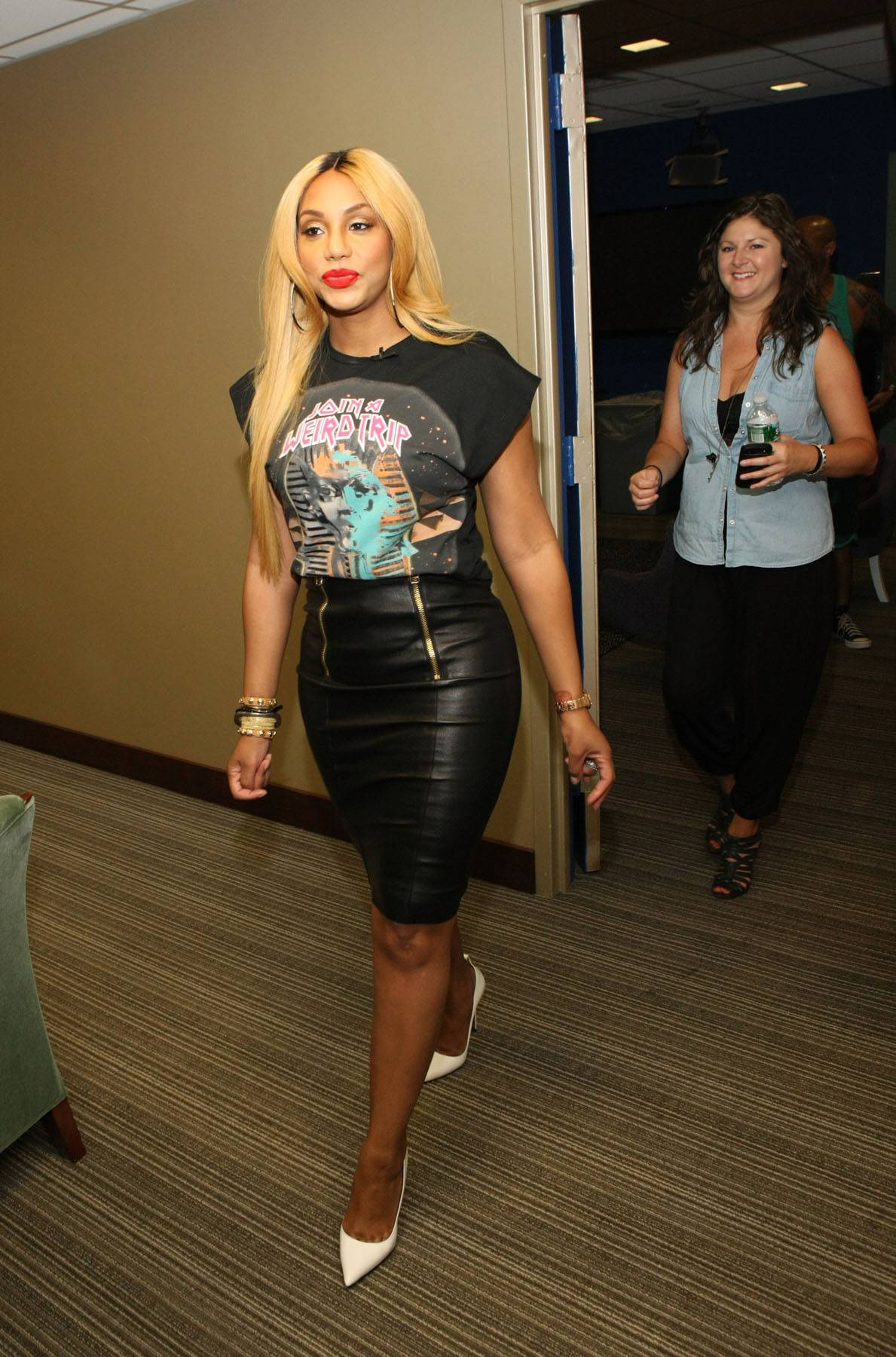 She Has Arrived - TV personality/recording artist Tamar Braxton visits 106 and hits the backstage. (Photo: Bennett Raglin/BET/Getty Images for BET)