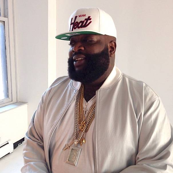 """Rick Ross - Rozay found himself in hot water in 2013 for his suggestive rape lyric on Rocko's """"U.O.E.N.O."""" He tried to calm the storm via Twitter: """"I dont condone rape. Apologies for the #lyric interpreted as rape. #BOSS"""" (Photo: Rick Ross via Instagram)"""