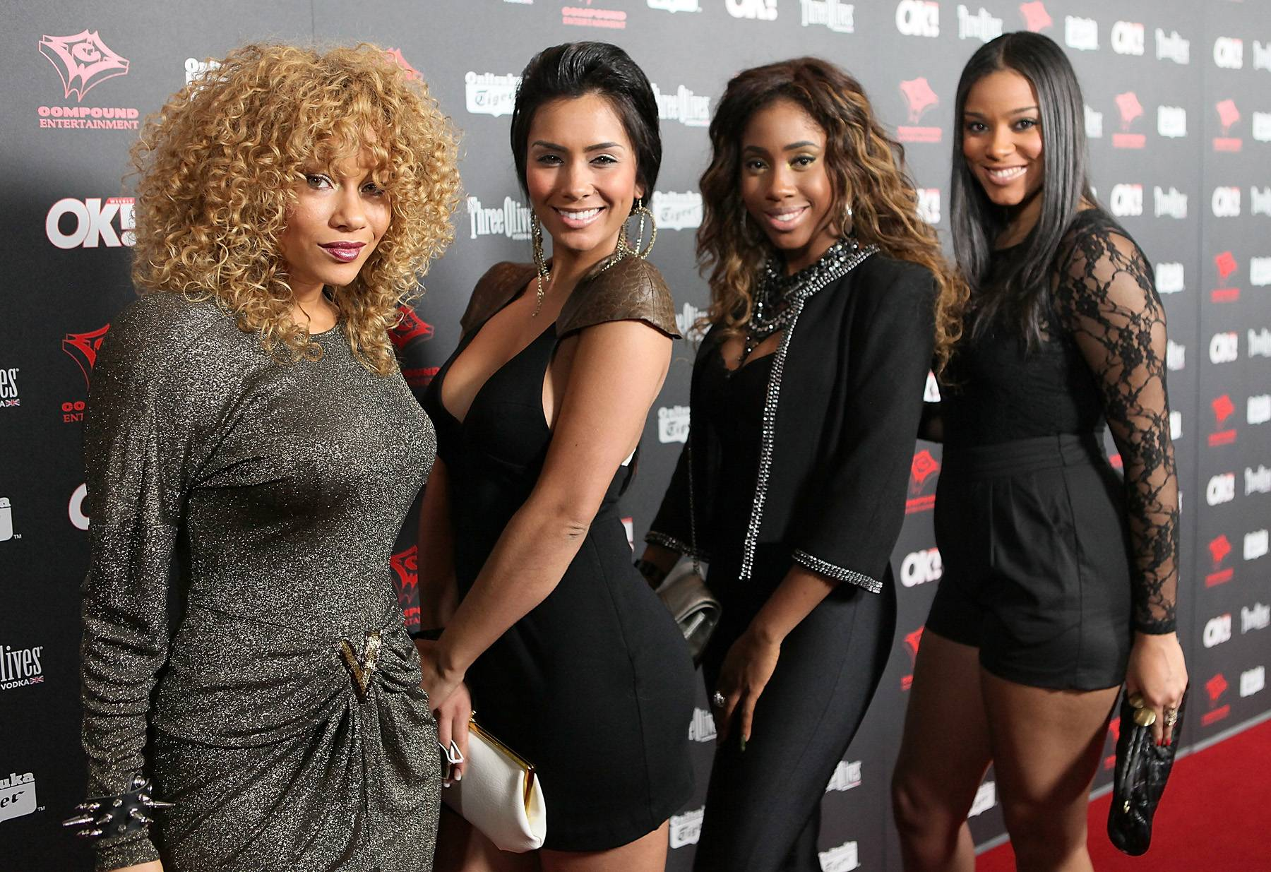 RichGirl - After being discovered on MySpace by producer Rich Harrison, Sevyn became part of another quartet called RichGirl. Unfortunately, they disbanded soon after due to changes within the industry. (Photo: David Livingston/Getty Images)
