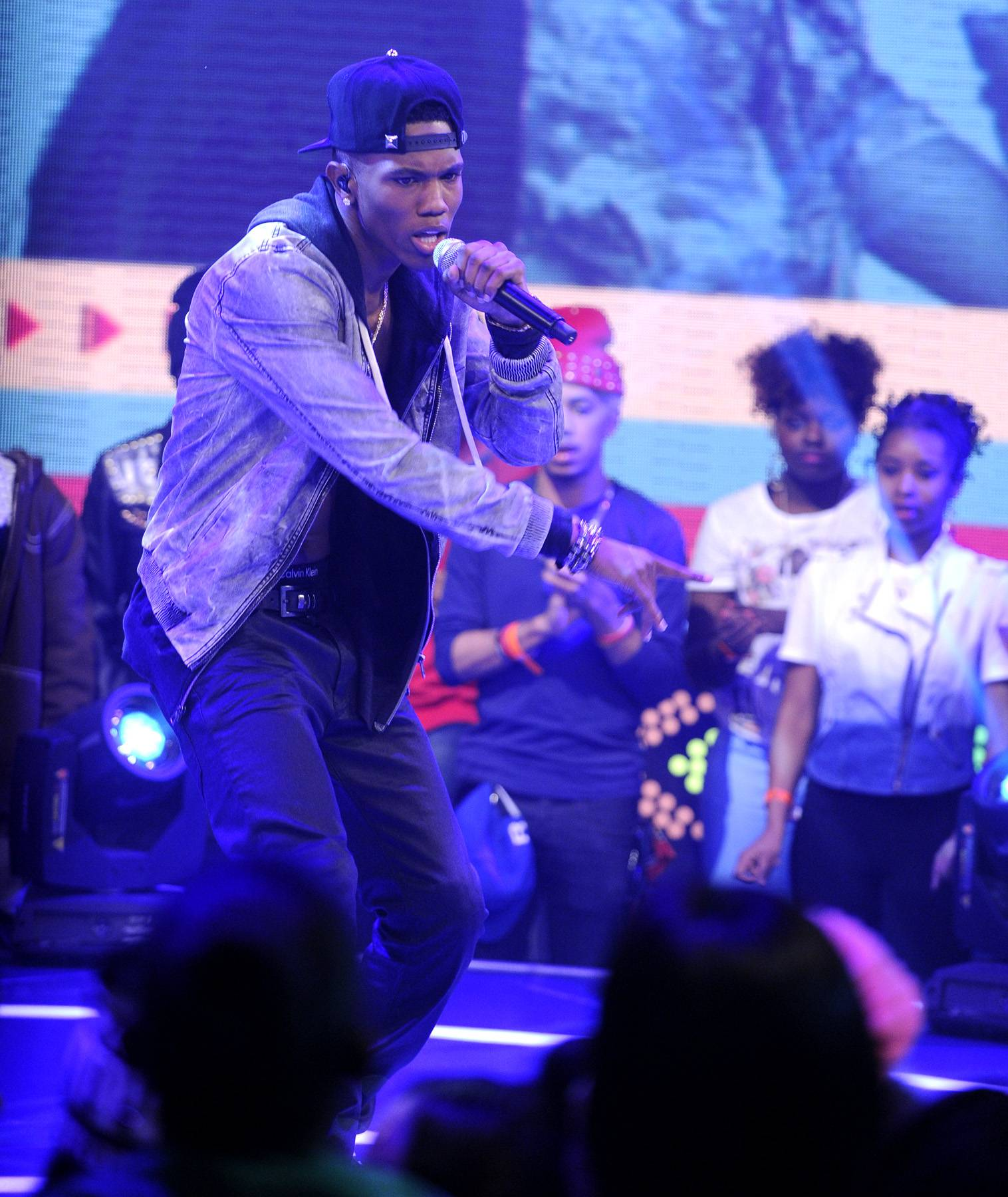 Ready For Action - 106 & Park, March 11, 2013. (Photo: John Ricard / BET)