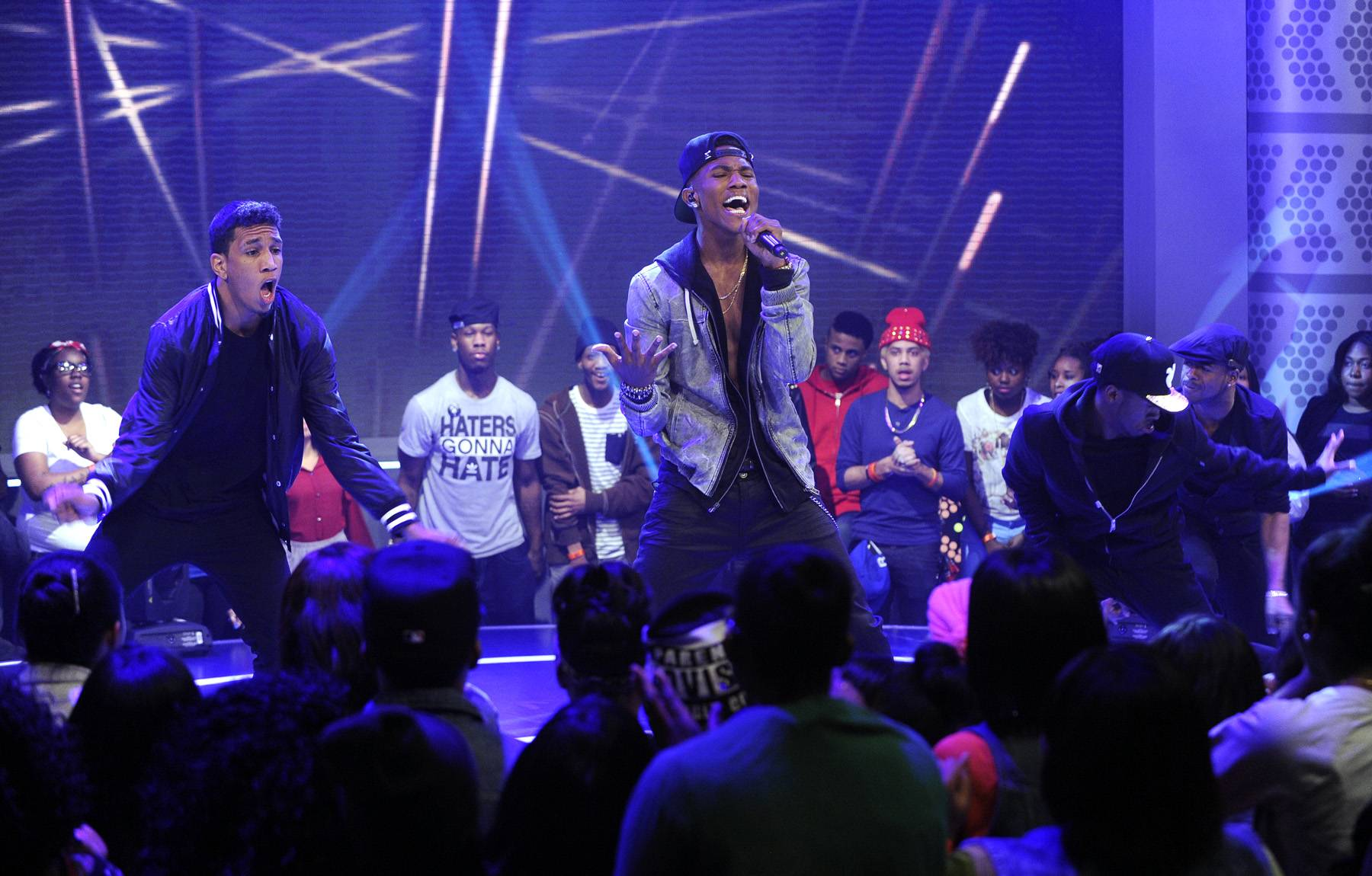 Now What - 106 & Park, March 11, 2013. (Photo: John Ricard / BET)