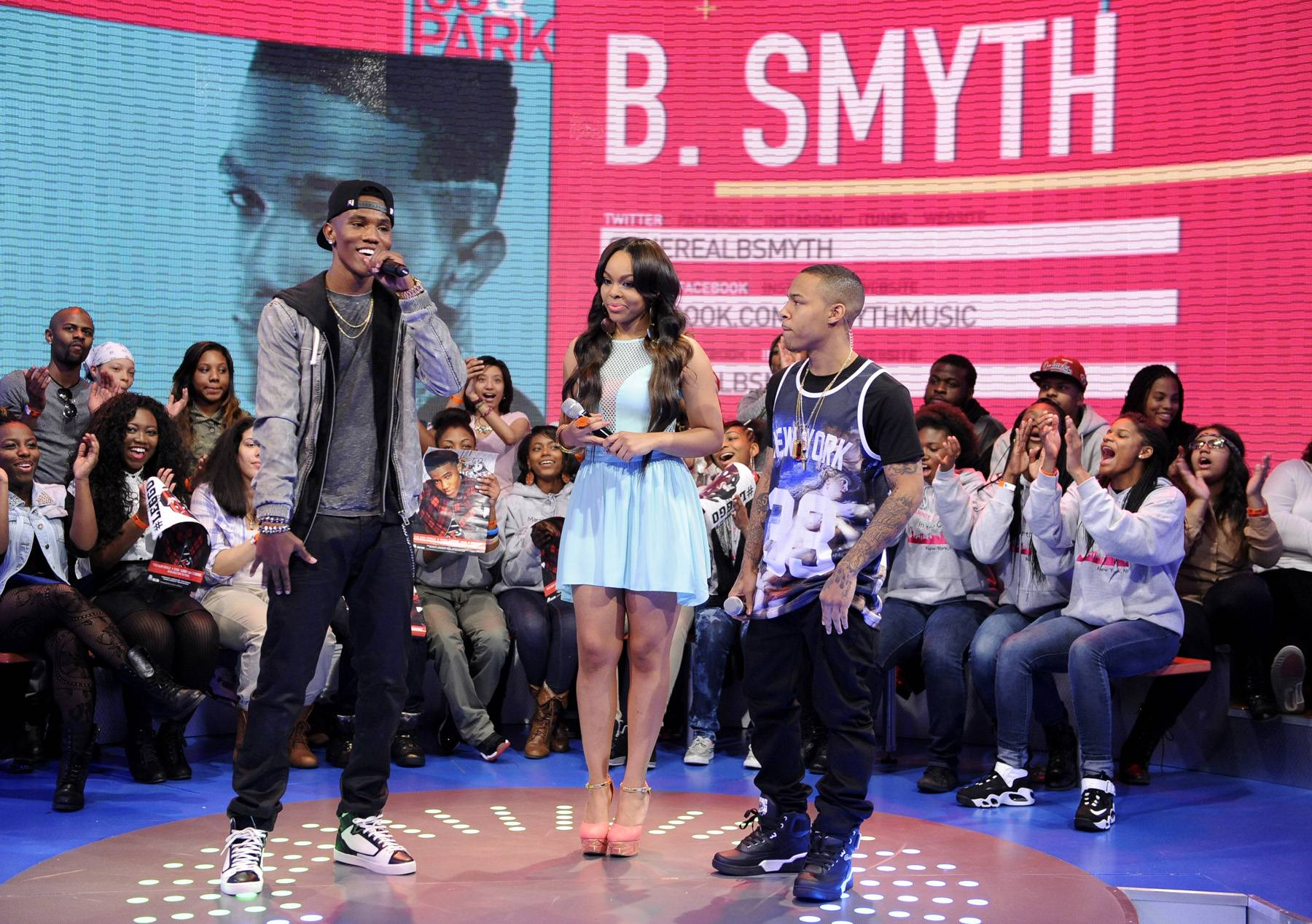 Im In Here - 106 & Park, March 11, 2013. (Photo: John Ricard / BET)