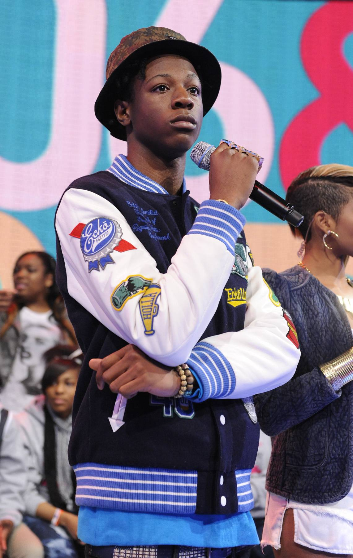 """Joey Badass,@joeyBADASS - Tweet: """"We didn't get arrested for anything drug-related don't let the media brainwash you... We got arrested for 'Walking While Black'""""Alongside TDE'sAb-Souland two members of rap crew Pro Era,Joeygot cuffed while on a tour stop in St. Louis Monday night. The badass Brooklynite straightens out crooked headlines that report the arrest was linked to that ooh-wee.(photo: John Ricard / BET)"""