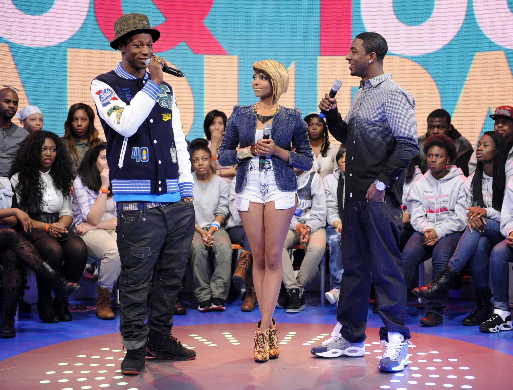 Welcome - 106 & Park, March 11, 2013. (Photo: John Ricard / BET)