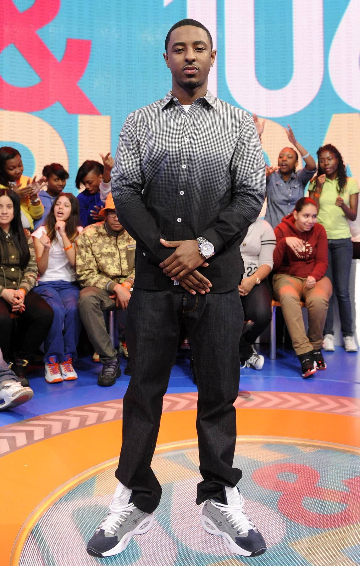 One Cool Dude - 106 & Park, March 11, 2013. (Photo: John Ricard / BET)