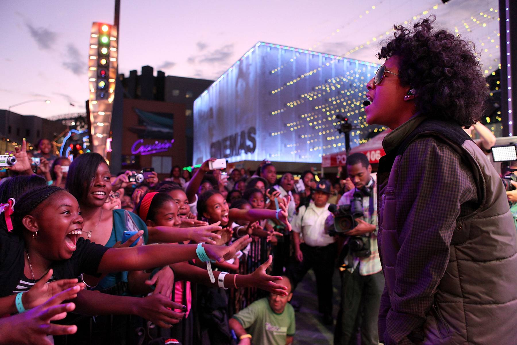 2. They Love the Ladies - Mindless Behavior are extremely grateful to their fans . . . especially the ladies.(Photo: Jesse Grant/Getty Images)
