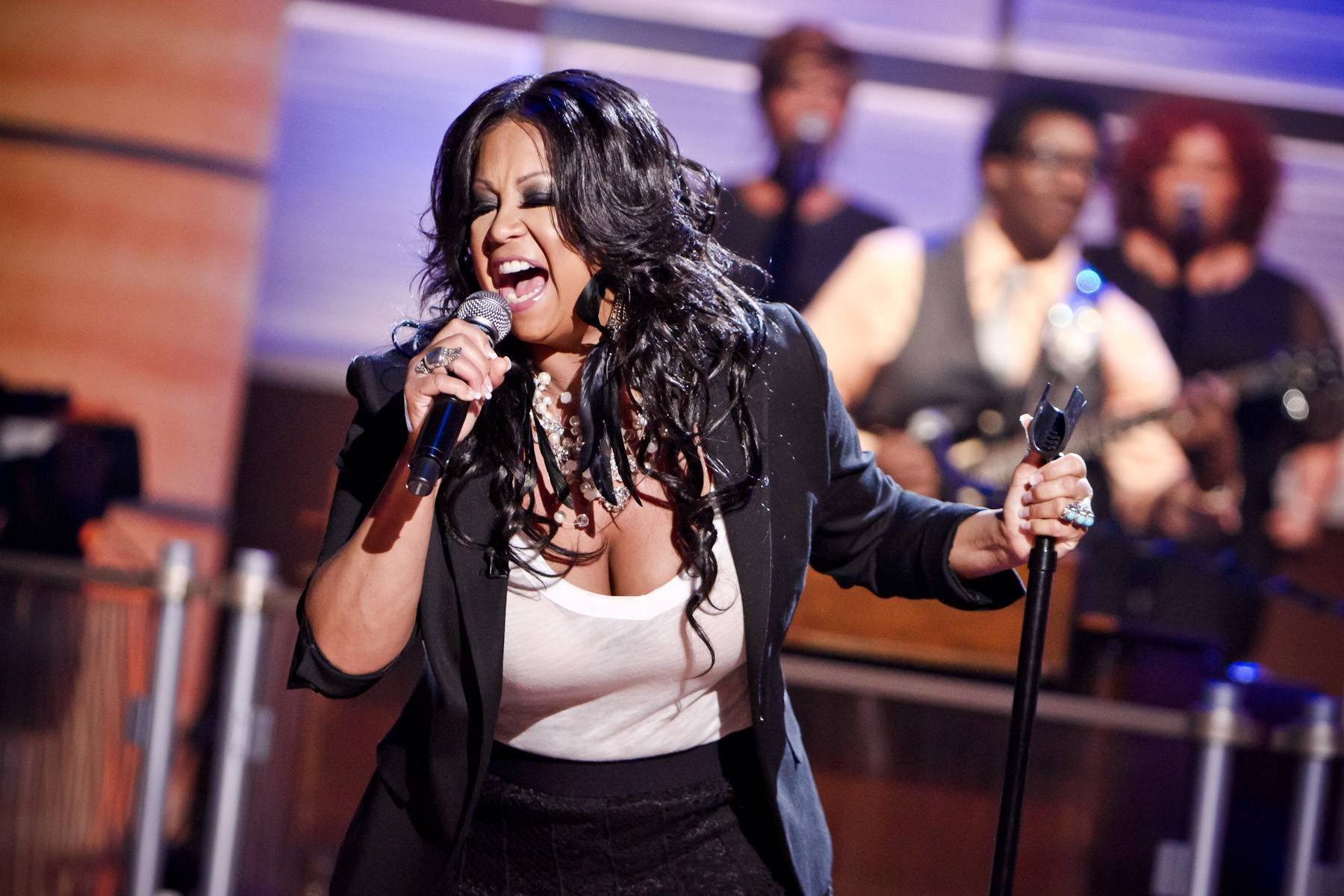 """Finally - Peniston won a Billboard award for the '90s jam """"Finally."""" She blessed the Penthouse with her signature hit. (Photo: Darnell Williams/BET)"""