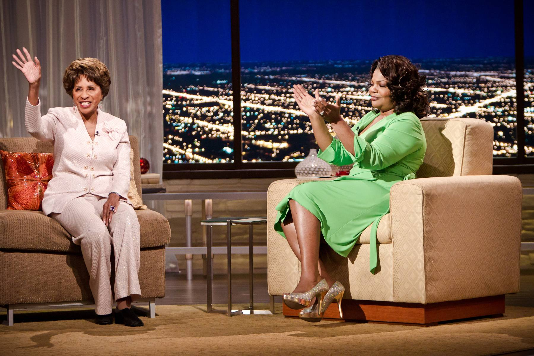 Movin' On Up to the Penthouse - Eleven time NAACP Image award winner Marla Gibbs sits down to discuss her experieces on The Jeffersons and 227.(Photo: Darnell Williams/BET)
