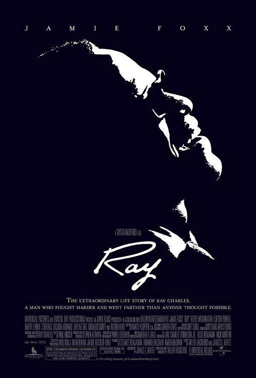 Ray - Jamie Foxx won the Oscar for Best Actor in 2004 for this incredibleRay Charlesbiopic.The film chronicles Ray's life as he suffered from blindness and drug addiction while becoming one of the greatest artists of all time.(Photo: Universal Pictures)