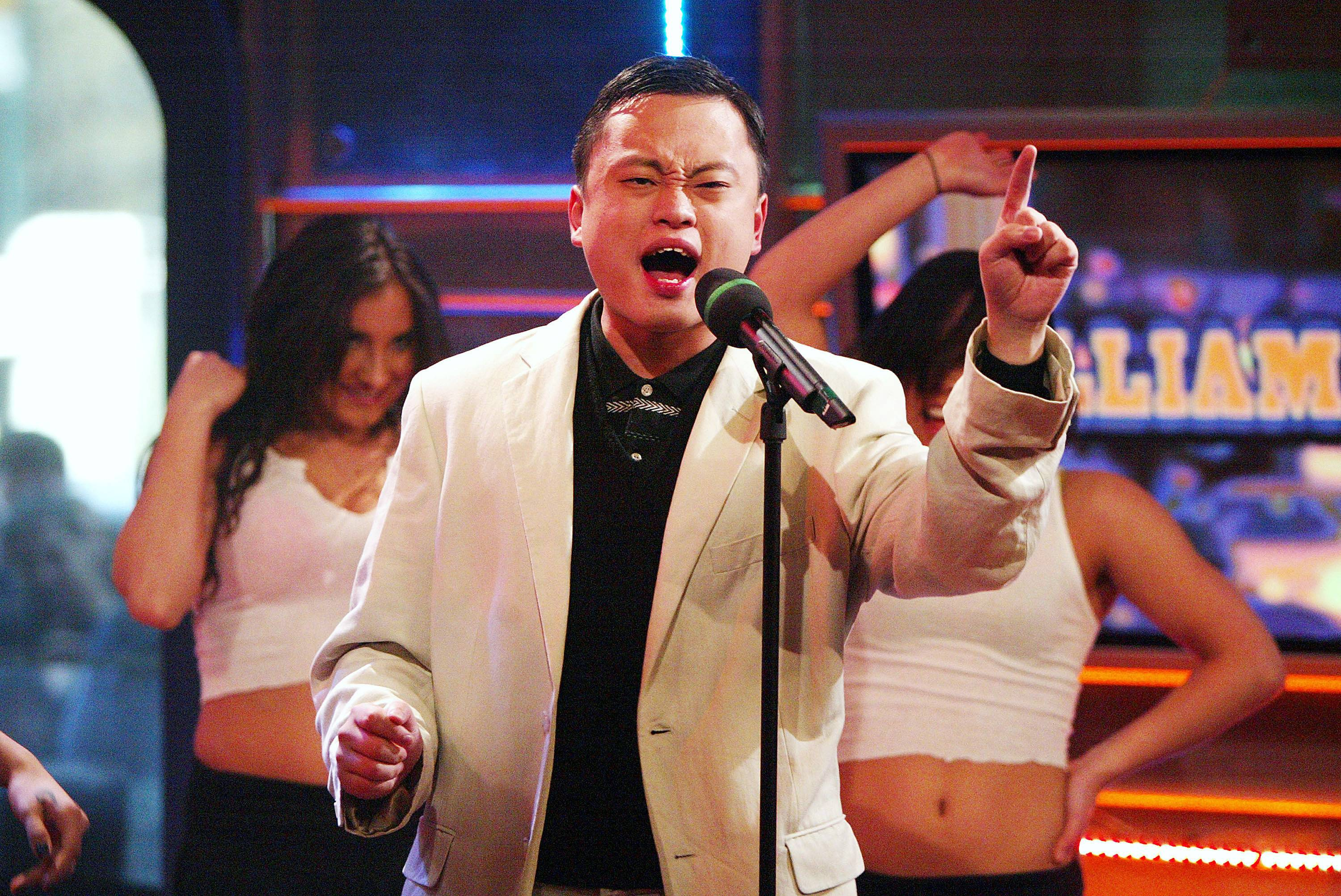William HungSeason 3Winner: Fantasia - Sure, eventual Season 3 winner Fantasia won crowds over with her powerful pipes, but California native William Hung captured the hearts of American Idol fans with his earnest but off-key rendition of Ricky Martin?s ?She Bangs.? Hung quickly became a fan favorite who, despite losing, went on to sign a record deal with Koch Entertainment. The singer has put out three solo albums and appeared in television ads and foreign sitcoms. He bangs!Photo: By Scott Gries/Getty Images