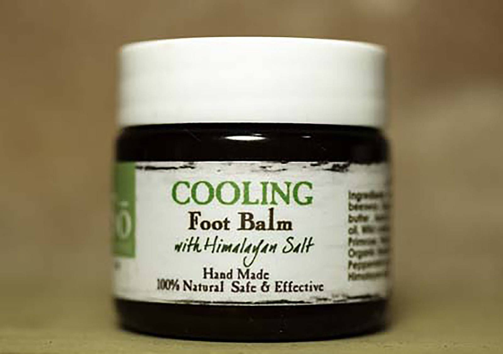 So Well Cooling Foot Balm - $18 - Nobody wants to have or see crusty, cracked, dry heels. This cooling foot balm will have your feet looking freshly pedicured. It also prevents your feet from sweating profusely and smelling bad in your new winter socks and boots.(Photo: Courtesy of Marina Samovsky Photography, www.natural-salt-lamps.com)