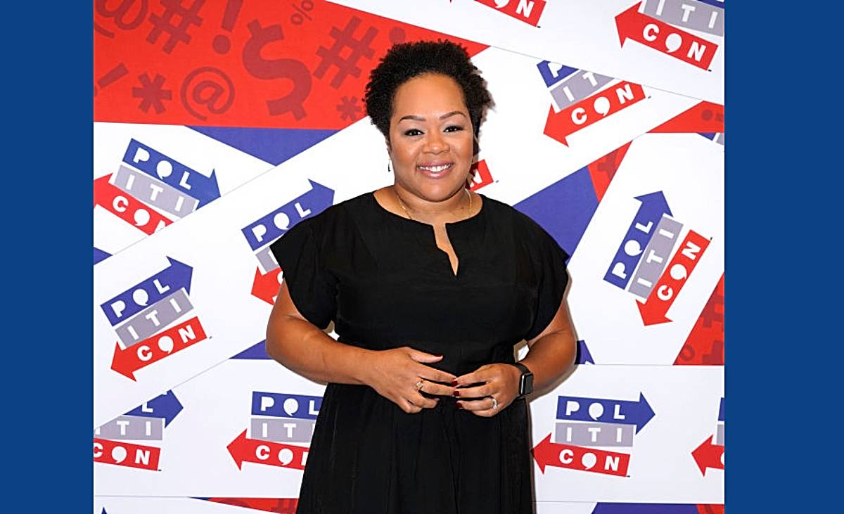 Yamiche Alcindor - Trump's White House press conferences – often filled with absurd claims and wanton misinformation – have never been easy for journalists to cover. Leave it to Yamiche Alcindor to do what most of her counterparts seemed too scared to do: challenge the leader of the free world about his lies. The PBS NewsHour's White House correspondent made headlines for going toe-to-toe with Trump, challenging his claims while always remaining both poised and composed. For her work, Alcindor was recently named the 2020 NABJ Journalist of the Year. (Photo by Ed Rode/Getty Images for Politicon)