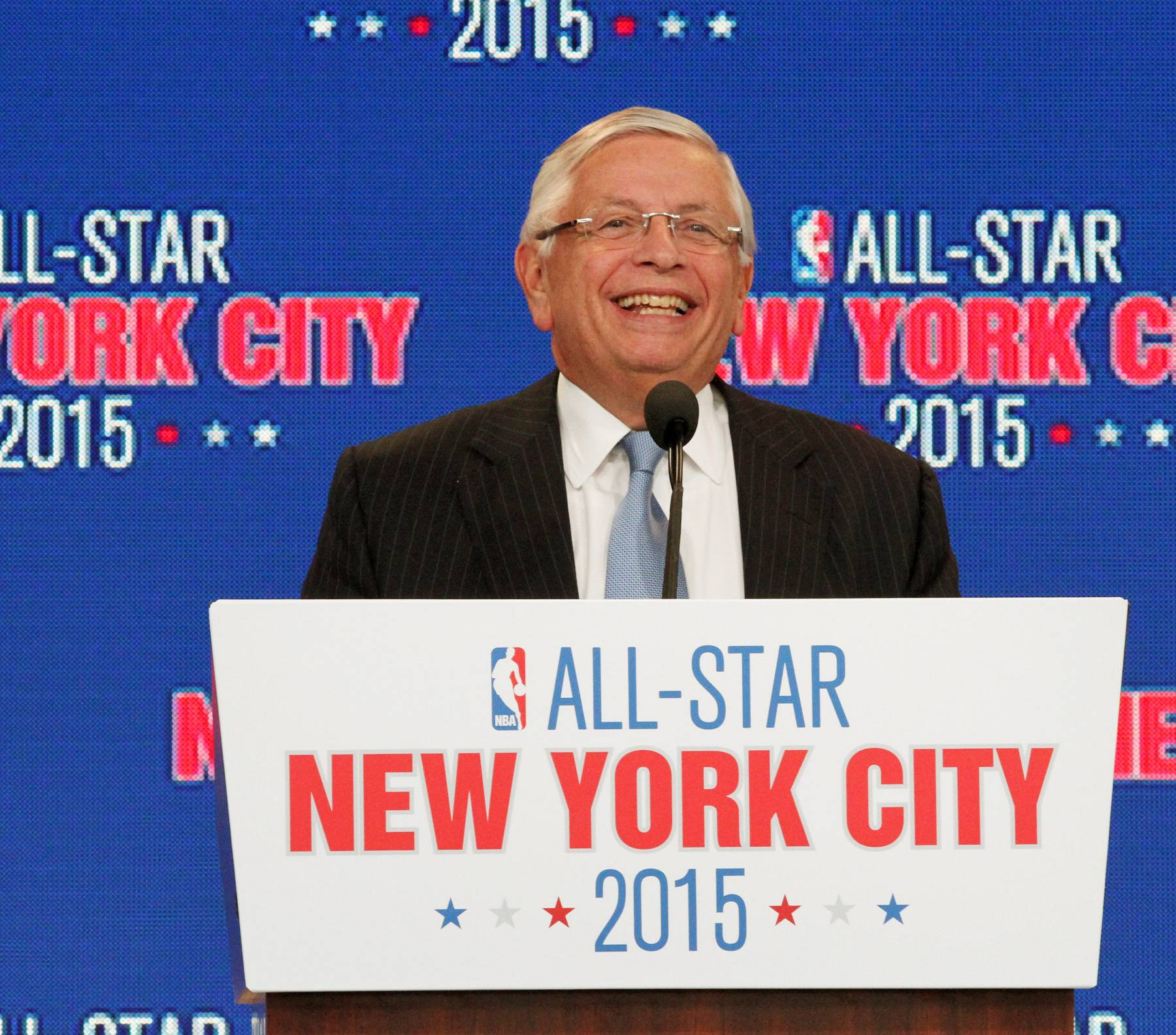 It's Official! - After high hopes and some speculation, the NBA's commissioner David Stern has announced that the 2015 All Star basketball game will take place in NYC splitting all activities between BK's Barclay's Center and Manhattan's Madison Square Garden. Get ready NYC!(Photo: AP Photo/Tina Fineberg)