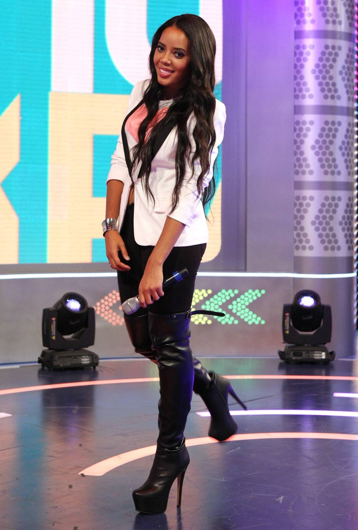Angela Simmons' Hottest Looks - It's no secret that Angela Simmons is a fashionista, so with her time with 106 coming to an end, we're strolling down memory lane and checking out her hottest looks while on the show!  Don't miss 106 & Park tonight at 6P/5C! (Photo: Bennett Raglin/BET/Getty Images for BET)