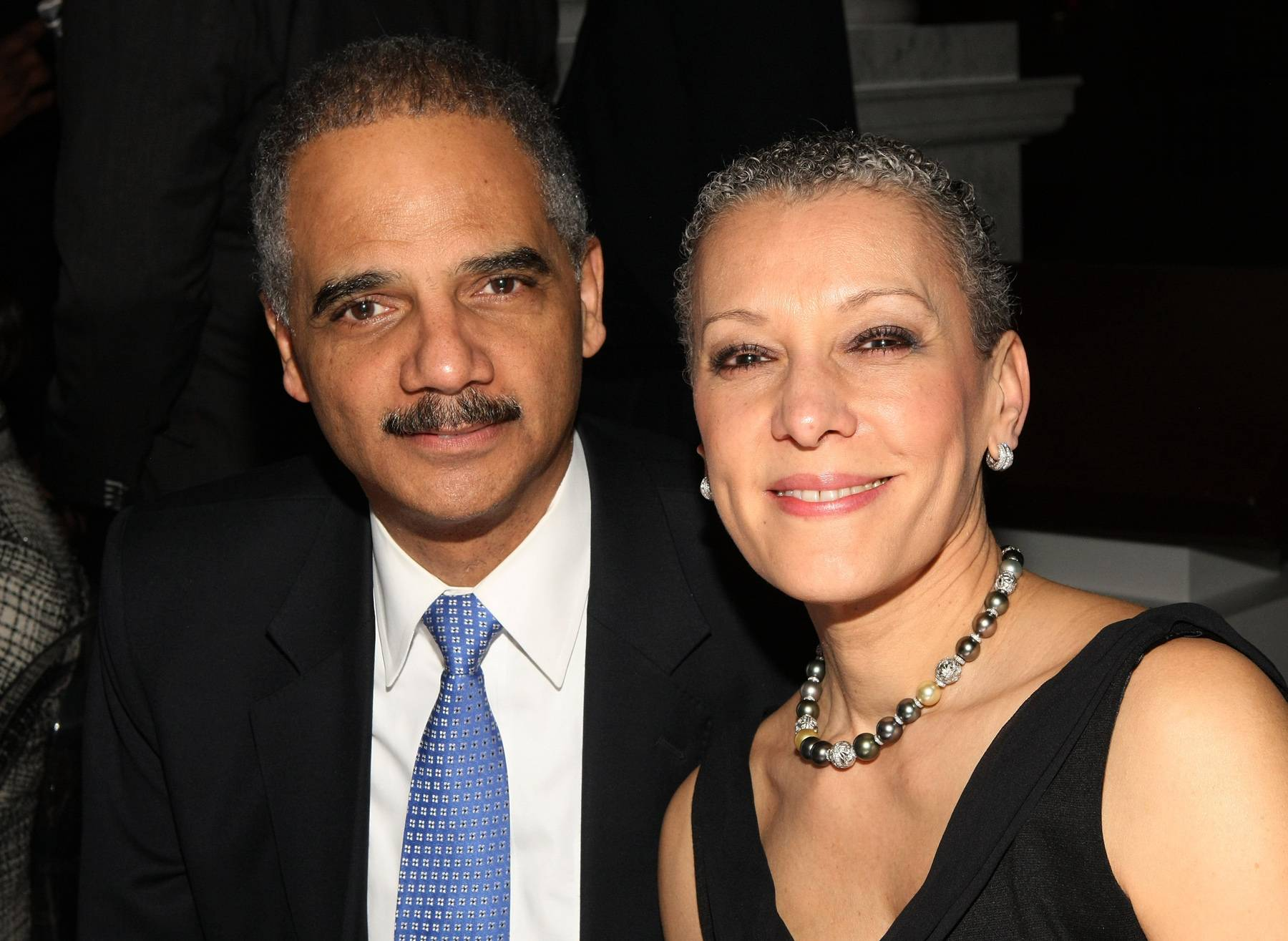 Eric Holder and Sharone Malone - Attorney General Eric Holder and his wife, Dr. Sharone Malone, married on April 7, 1990. When the prominent couple met, Malone was finishing up her medical residency and wasn?t sure if she wanted to move or remain in D.C. Meeting Holder was all the reason she needed to stay.(Photo: Bennett Raglin/Getty Images for BET)
