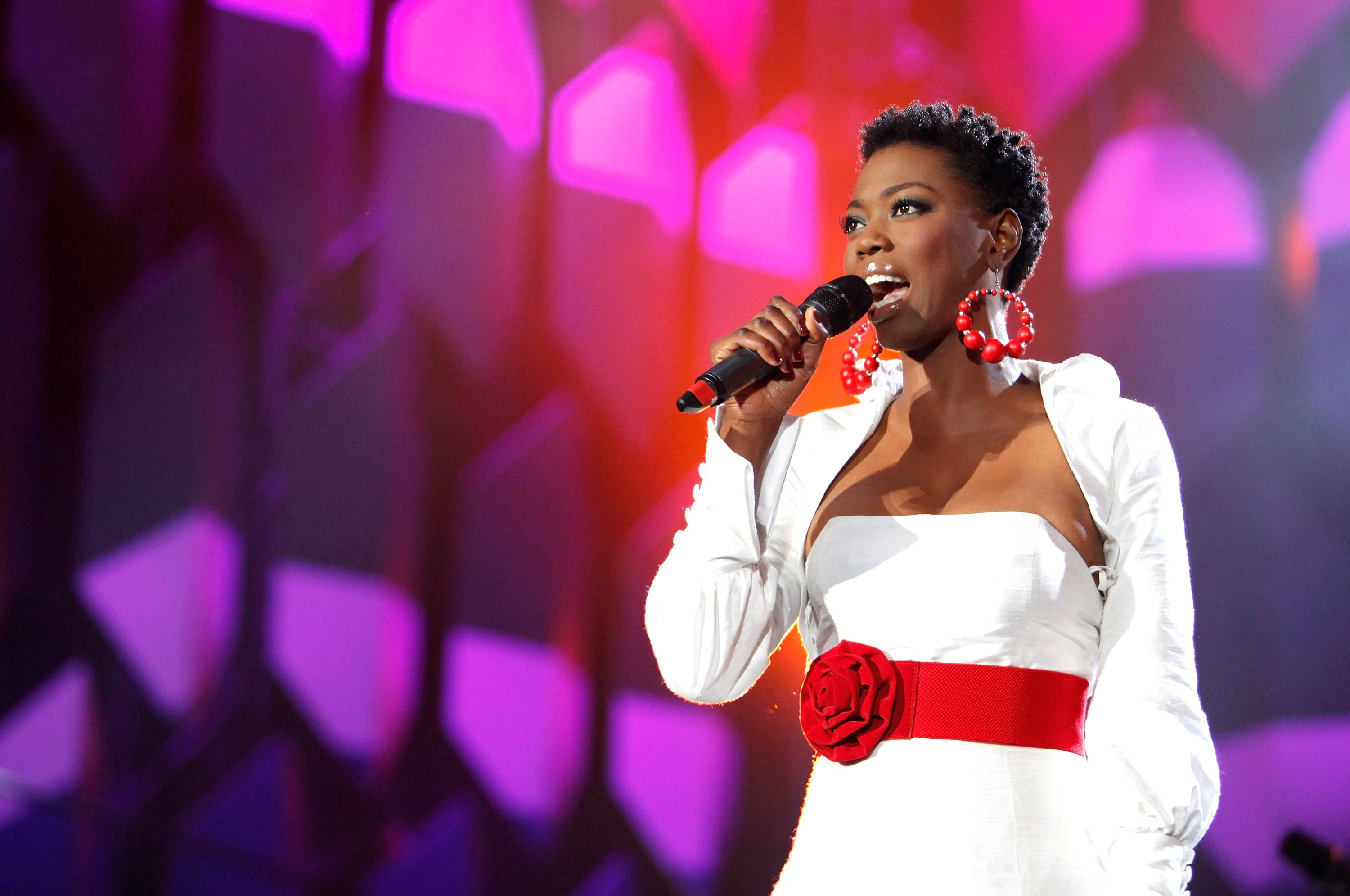 """Lira - Born in the midst of apartheid, platinum-selling vocalist Lira has a lot to sing about. Since being discovered in 2000, she has won several awards at the South African Music Awards, earned platinum certifications for two albums and snagged the top spot on the video sales chart with her concert DVD Live In Concert: A Celebration. ?Music changed my world forever. It was the companion and silent warrior that spoke for us when we were not able to,"""" Lira said in her biography.  (Photo: Michelly Rall/Getty Images for Live Earth Events)"""