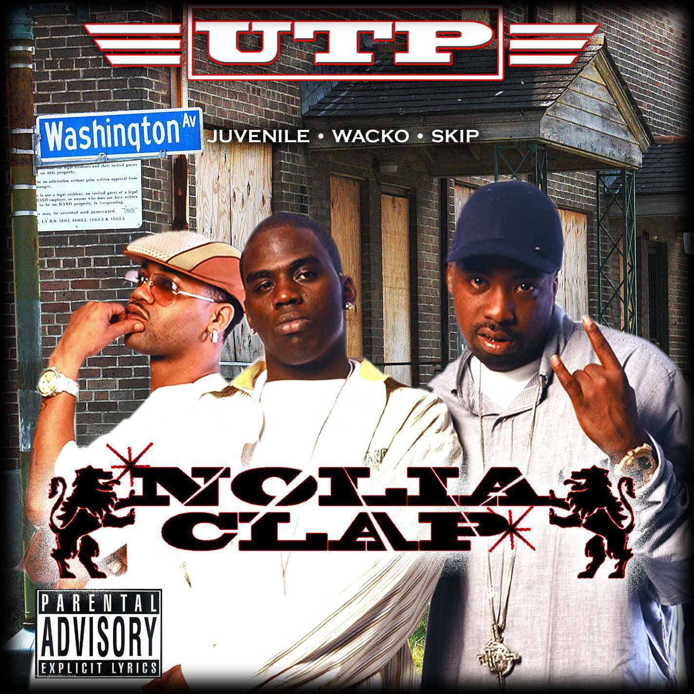 'Nolia Clap' by The UTP Playas and Juvenile - We're sorry, but even if you're not from N'awlins you can't help but feel this jam wholeheartedly.   (Photo: Ra-o-Lot)