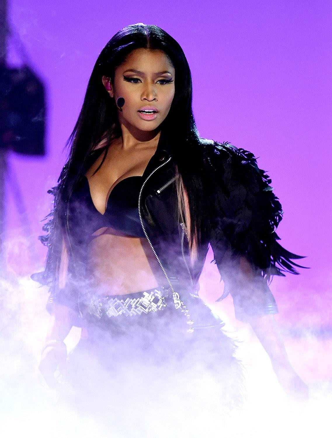 """Nicki Minaj - Our favorite femcee reps Queens to the death, but she's a Trini gal at the core. Did you not hear her latest track """"Trini Dem Girls""""? (Photo: Ethan Miller/Getty Images)"""