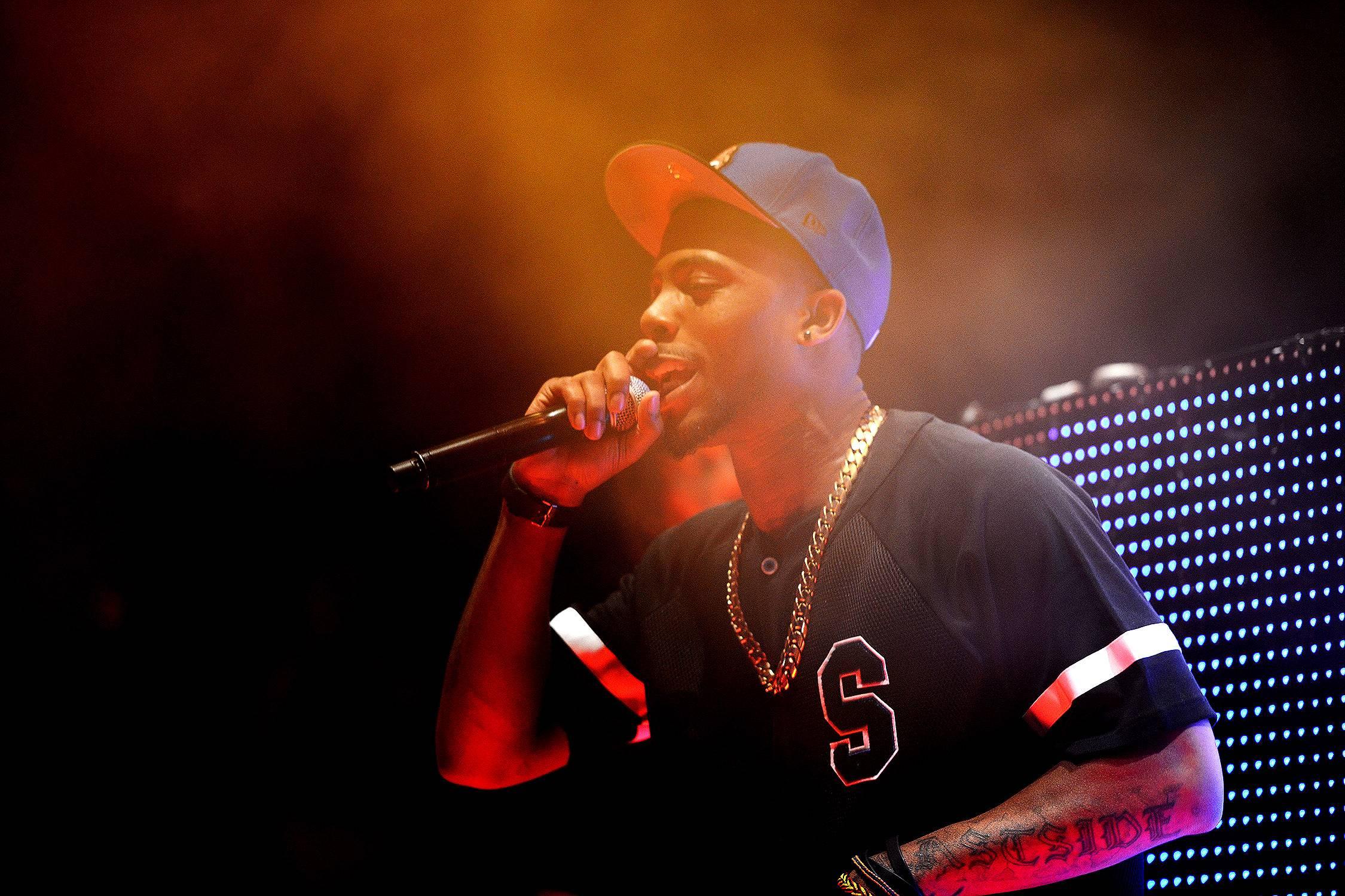 B.o.B - Your favorite Atlanta rapper was really born in Winston-Salem, North Carolina.  (Photo: Daniel Boczarski/Getty Images for MLB.com)