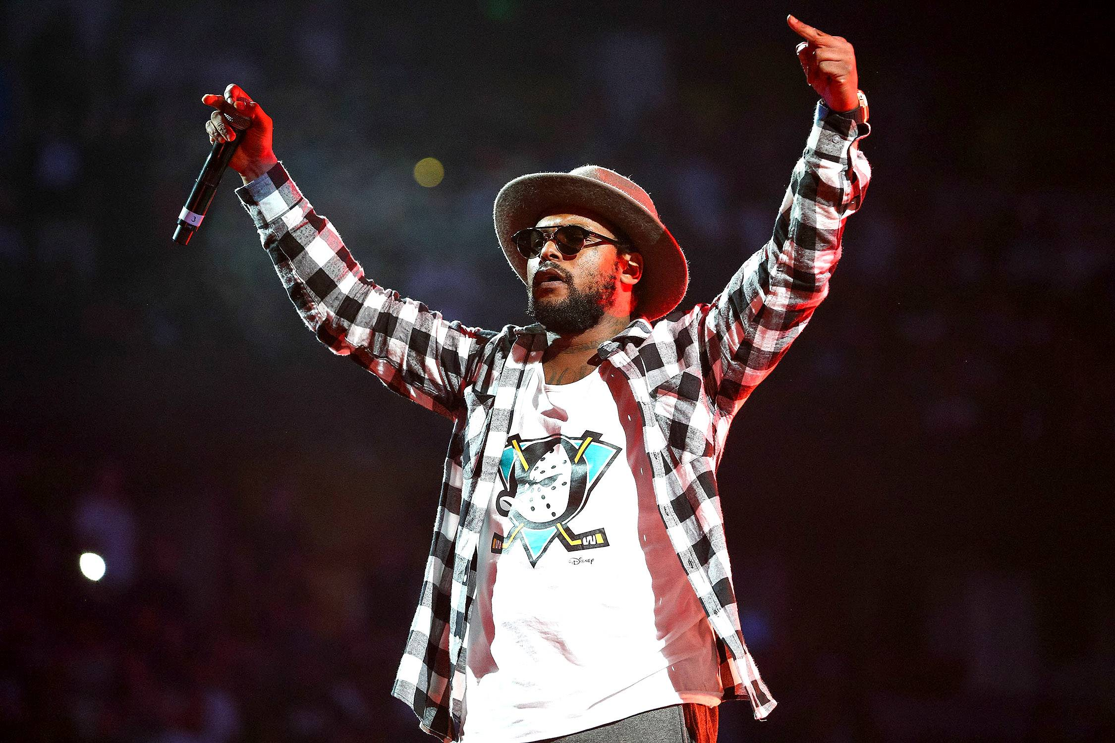 """ScHoolboy Q - The """"Collard Greens"""" MC goes hard for L.A., but was born in Wiesbaden, Germany. (Photo: Imeh Akpanudosen/Getty Images)"""