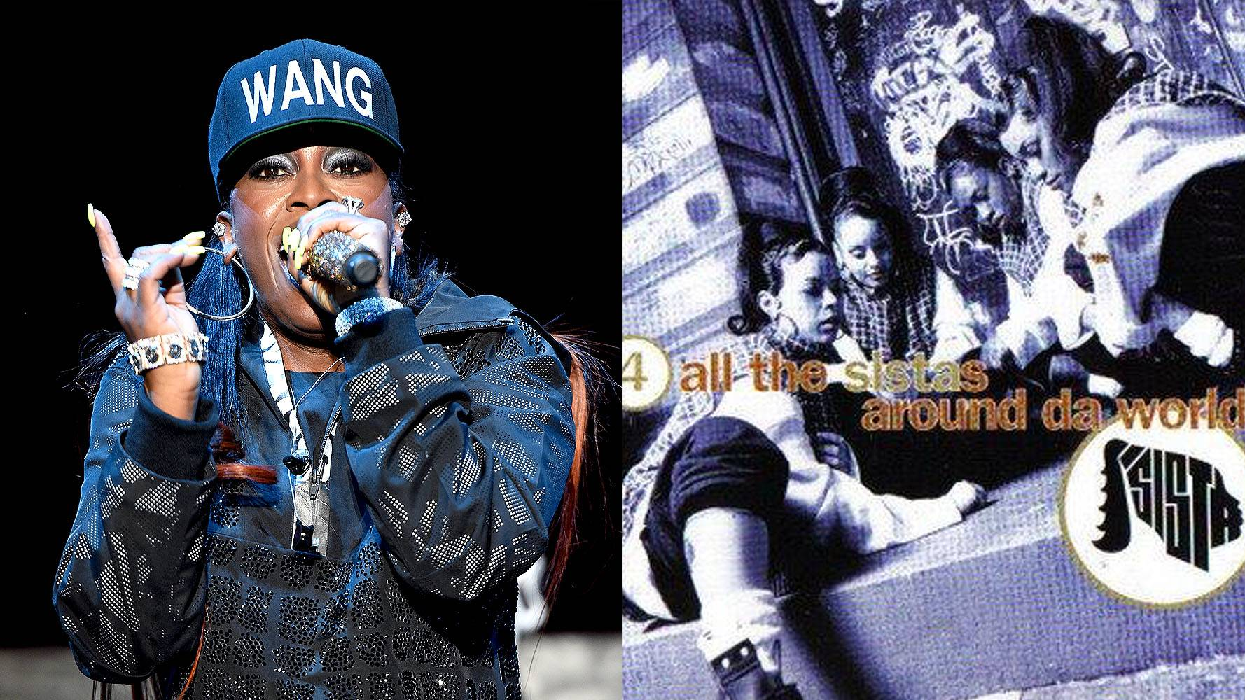 Missy Elliott | Sista  - Before she was Missy 'Misdemeanor' Elliott, she started off in the all-girl group Sista showing off her killer vocals. These R&B sistahs had some good jams! (Photos from Left: Andrew H. Walker/Getty Images for H&M, Swing Mob/Elektra Records)