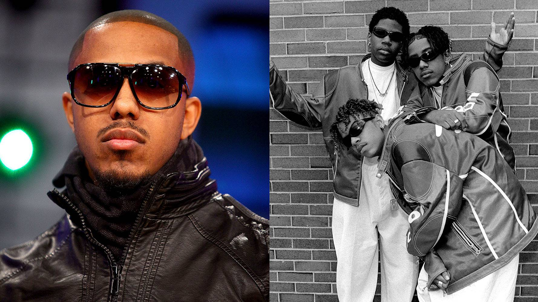 Marques Houston | Immature  - Marques Houston has made quite a name for himself, from acting to singing. He started off with the R&B groupImmature.And they didn't just stick to music, they had some dope roles in movies, too. (Photos from Left: Astrid Stawiarz/Getty Images, Raymond Boyd/Michael Ochs Archives/Getty Images)