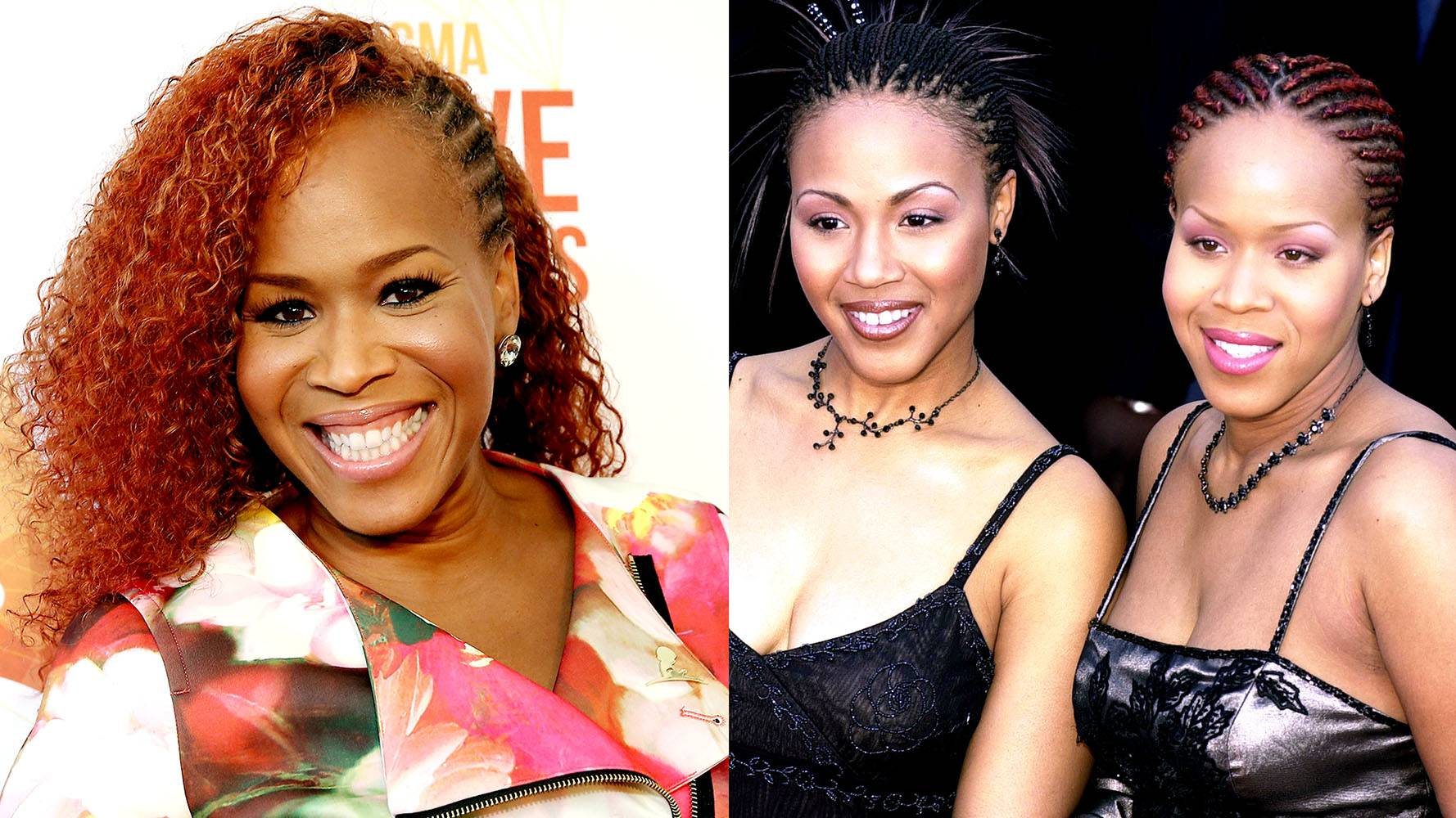 Tina Campbell | Mary Mary  - Although the Grammy Award-winning group Mary Mary might not be together anymore, that doesn't mean the two songstresses aren't still firing up some great tunes on their own. Right after Erica put out her amazing first solo album, Tina came out with one too, called It's Personal. (Photos from Left: Terry Wyatt/Getty Images for Dove Awards, Laura Farr/Newsmakers/Getty Images)