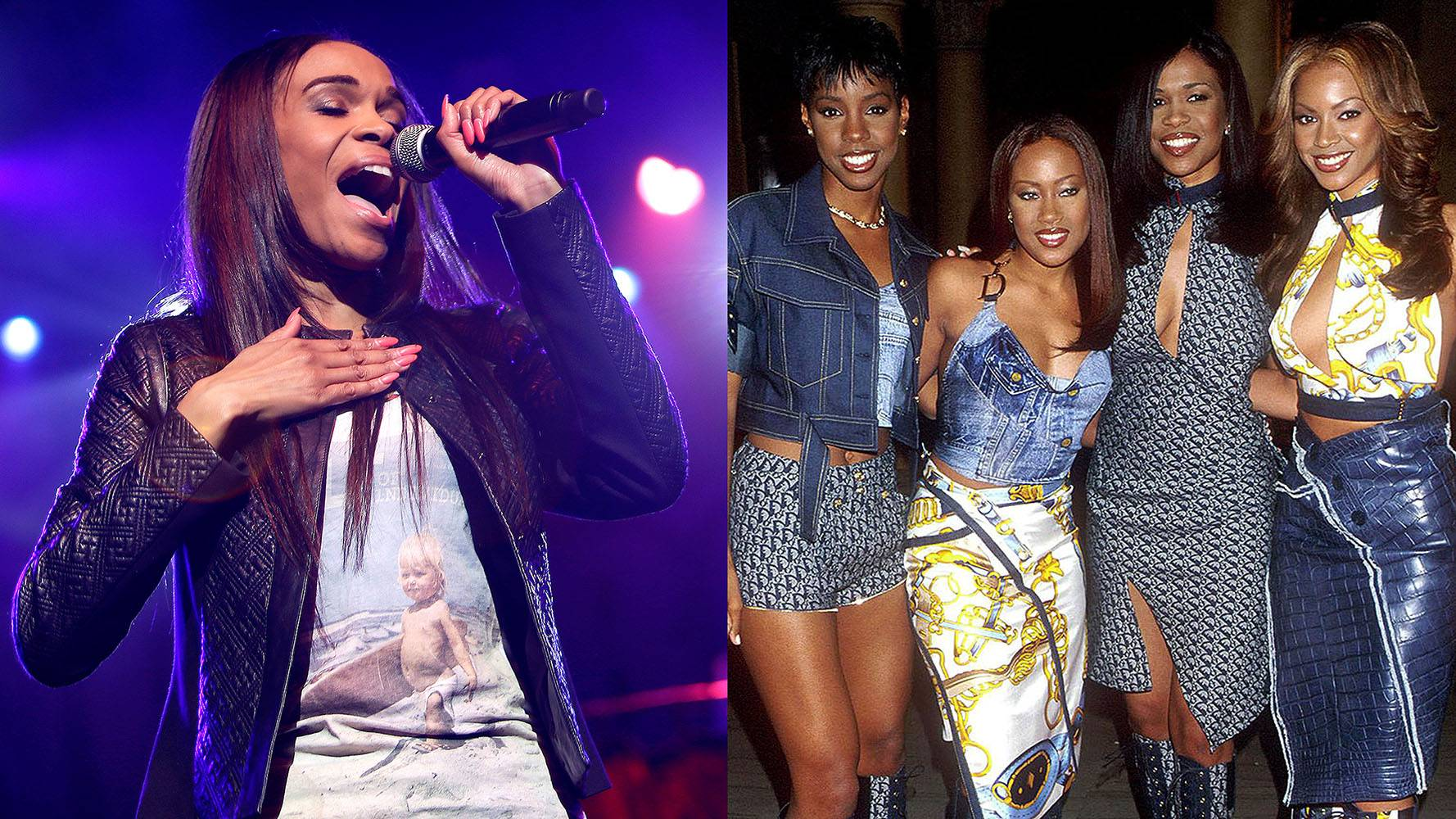 Michelle Williams | Destiny's Child   - She can't shake her destiny! Even though Michelle has gone gospel, we'll always have the luxury of chalking up her tremendous singing experience to all those world tours, music videos and chart-topping albums back in her Destiny's Child days. (Photos from Left: Mike McGinnis/Getty Images, Brenda Chase/Getty Images)