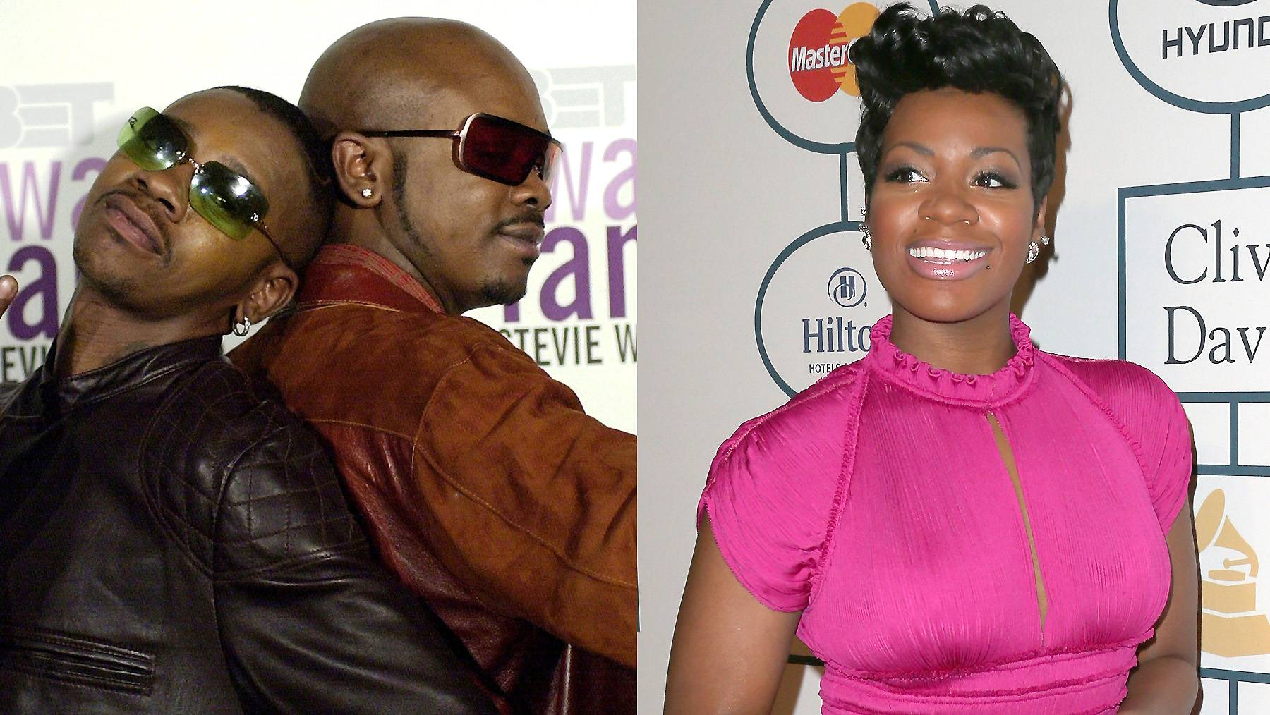 In the Family  - Those blaring vocals must run in the family! Fantasia and K-Ci and JoJo are first cousins. (Photos from left: Stefan Zaklin/Getty Images, Frederick M. Brown/Getty Images)