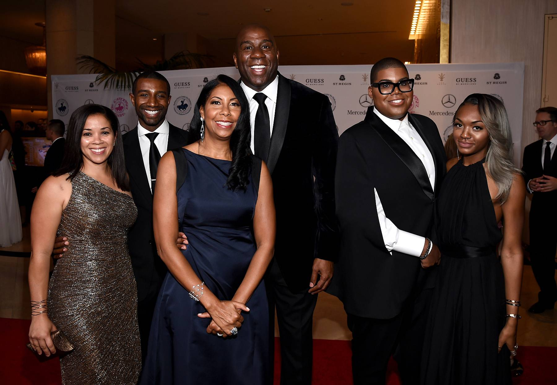 A Magic Family  - Most people are familiar with EJ Johnson taking over Sunset Strip on Rich Kids of Beverly Hills. How is he rich, you ask? Well, his father is none other than NBA star, Magic Johnson. (Photo: Michael Buckner/Getty Images)