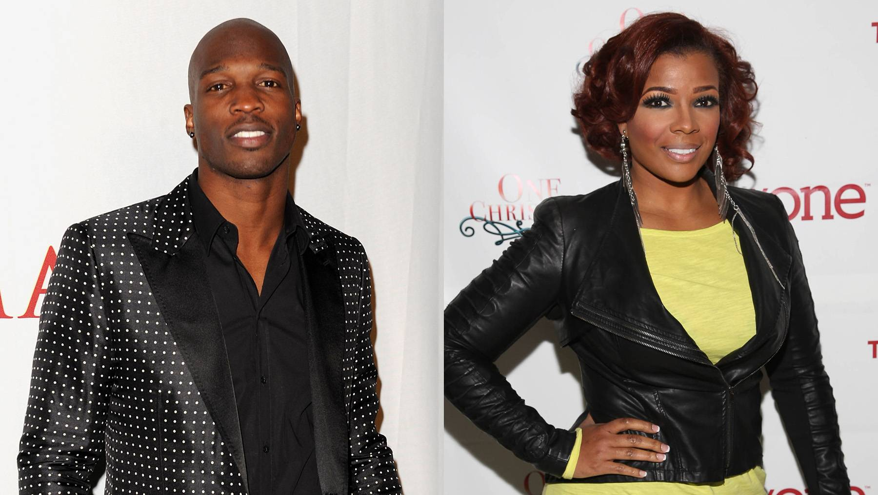 Wait What?!  - Yes, Chad Ochocinco and Syleena Johnson are brother and sister, but they keep their family ties really low-key. (Photos from left: Gustavo Caballero/Getty Images for Maxim, Rob Kim/Getty Images for TV One)