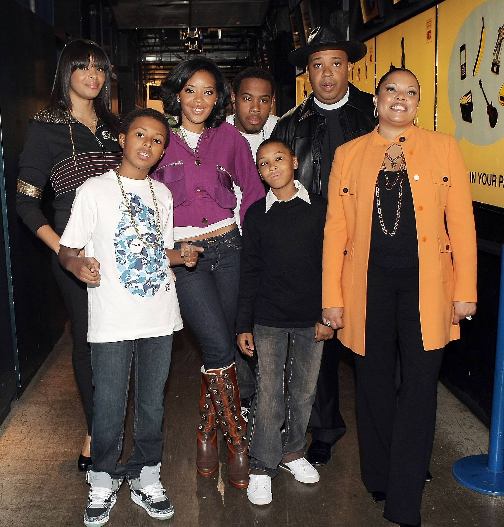 The Simmons Clan  - We know that Joseph Simmons, aka Reverend Run, and Russell Simmons are brothers, but did you know about his famous kids?Vanessa, Angela and Diggy are making waves in the entertainment and fashion industries just like their dear old dad. (Photo: Scott Gries/Getty Images)