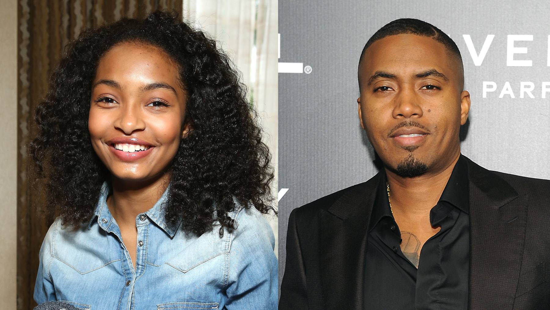This Is Illmatic!  - Black-ish's Yara Shahidi has a fun fact for you. Her second cousin is your favorite rapperNas! Yep! We were shocked too. (Photos from left: Rich Polk/Getty Images for mediaplacement, D Dipasupil/Getty Images)