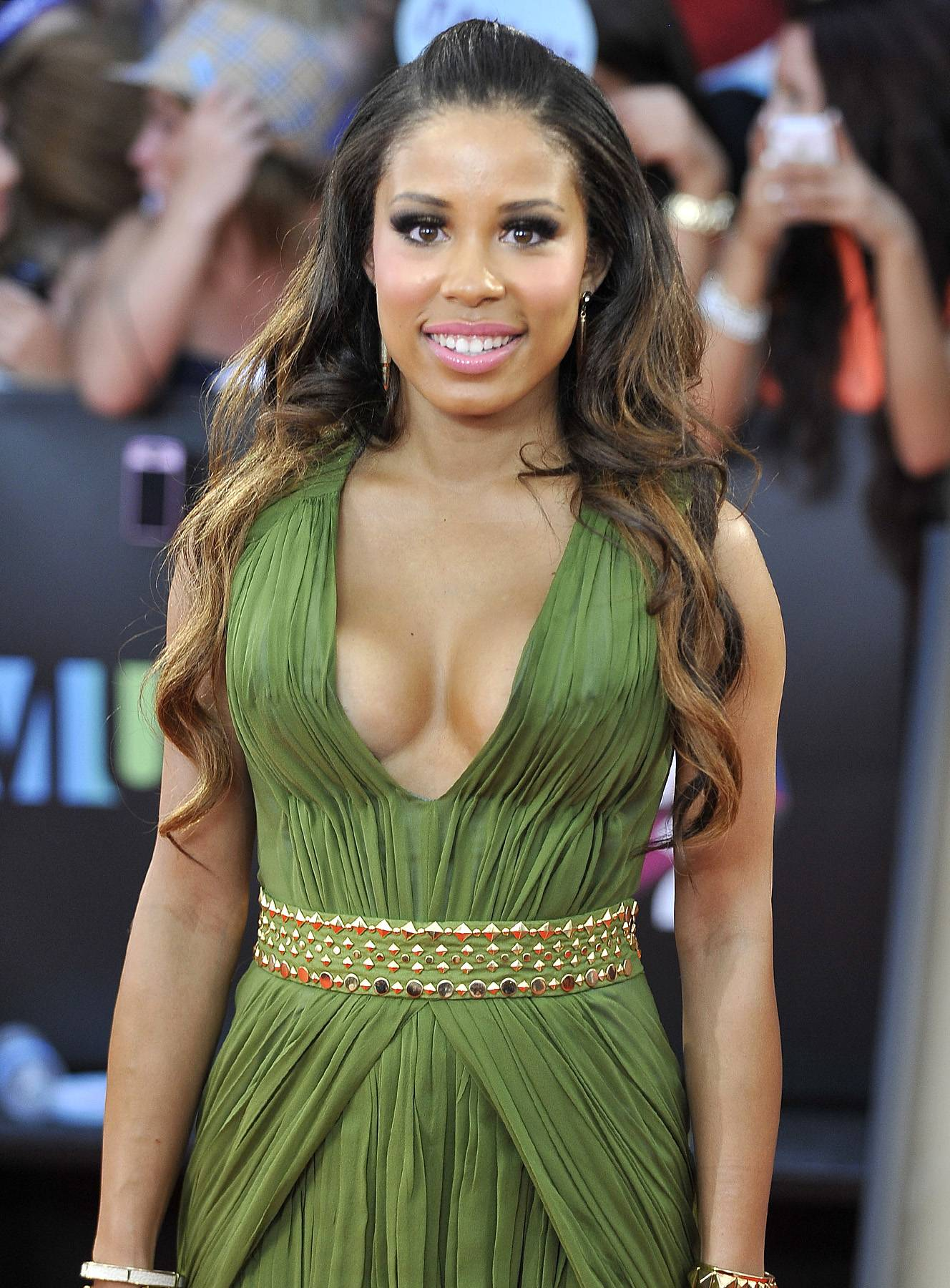 Diverse - Just in case you're wondering, Keshia Chante is multi-racial. Her mother is Portuguese and Puerto Rican and her father is Trinidadian.  (Photo: Jag Gundu/Getty Images)