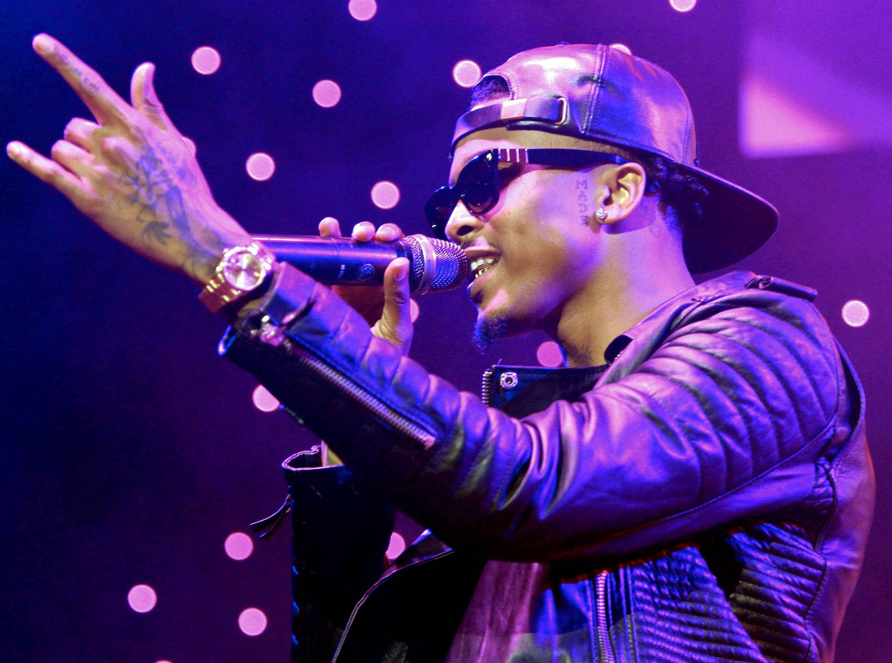 """No Love - Mr. Alsina dropped a new single/video in October called """"Grindin',"""" where he discussed his near death experience. He said about the song, ?I didn?t want to do no interviews because people turn your words into whatever they want it to be. It could be something so positive and some way, somehow, they find something negative in it and that?s what it?s all about. And with this situation at hand, this ain?t nothing to play with and don?t play with me about it and it was just something I wanted to stay away from. And I feel like I talk about so much stuff in my music, why not give it to them there??(Photo: Maury Phillips/BET/Getty Images for BET)"""