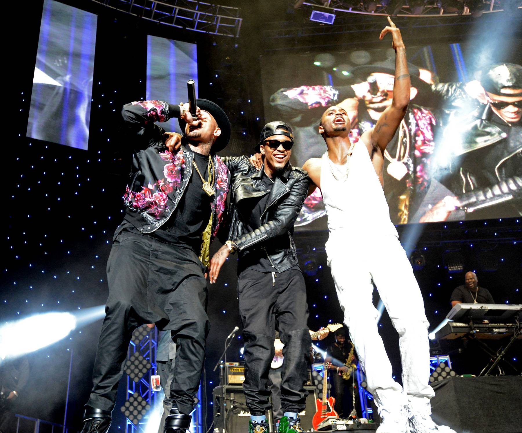 R&B Brotherhood - They brought the house down at the 2014 BET Awards earlier this year, but the fun didn't stop there. Chris Brown, August Alsina and Trey Songz hit the stage together for a second time this year at the 2014 BET Experience, making every young girl's dream come true simultaneously.(Photo: Earl Gibson/BET/Getty Images for BET)