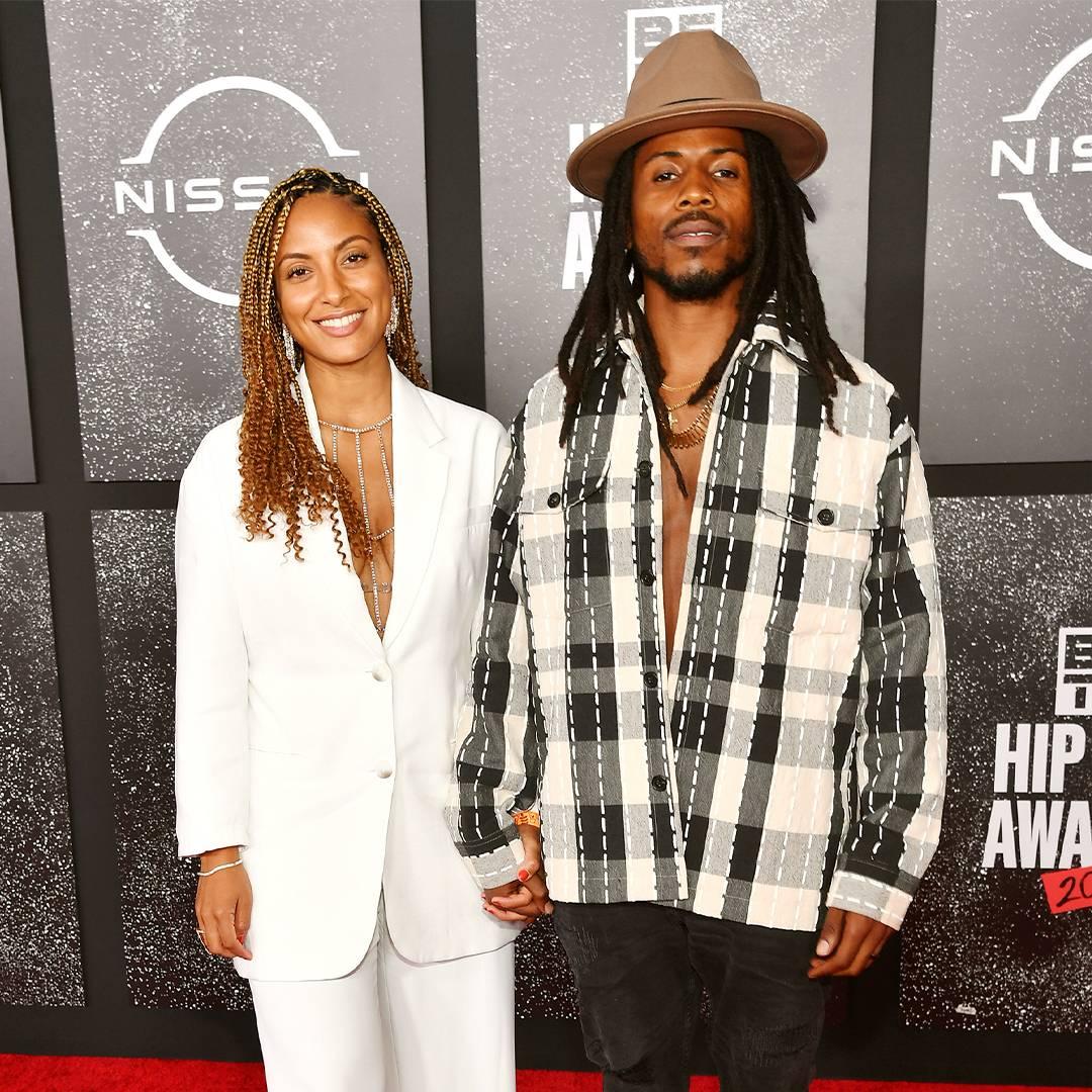 BET Hip Hop Awards 2021 | Red Carpet Singer Angelina Sherie and Rapper D Smoke | 1080x1080
