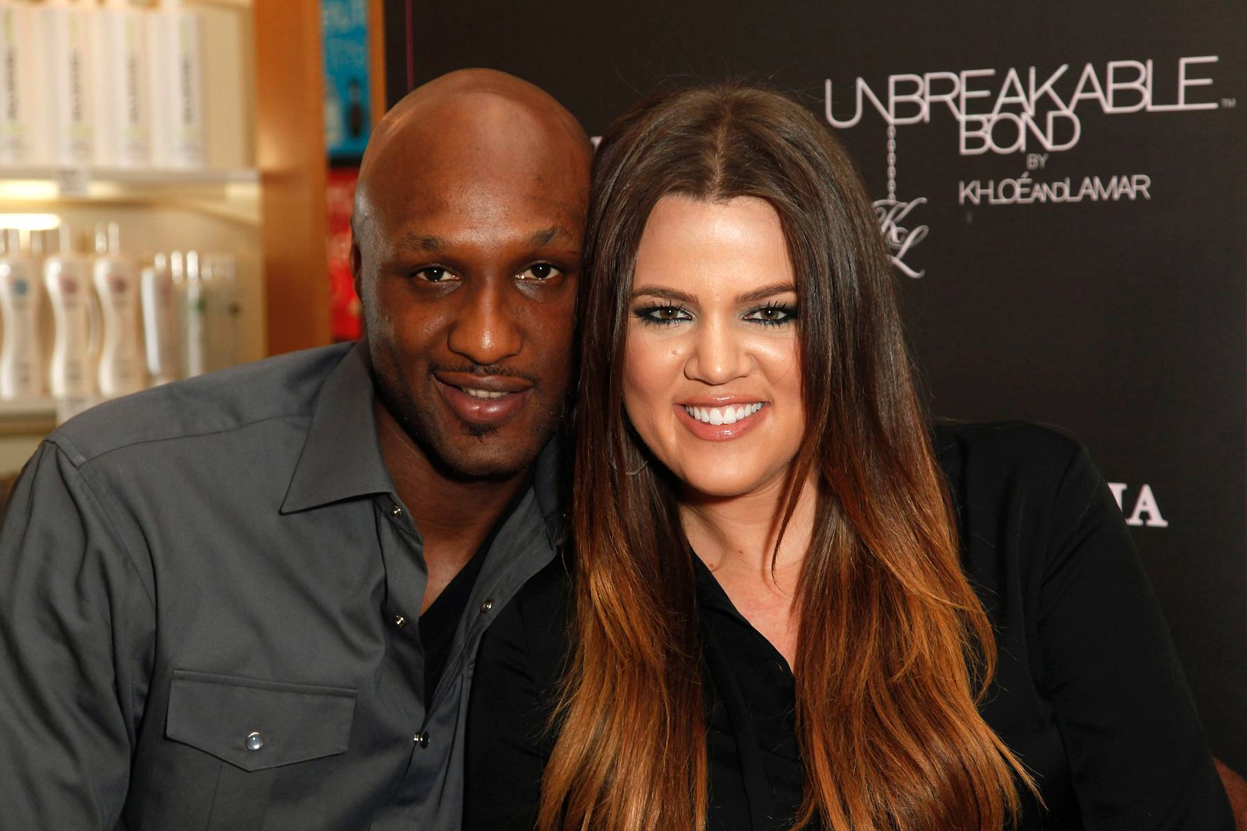 """""""She?s Still My Wife"""" - Odom spoke out for the first time on Feb. 21 about Kardashian filing for divorce: """"I love my wife. She'll always be my wife, no matter what,"""" Odom told US Weekly. """"Who knows? We don't know exactly if [the divorce is going through]. Only time will tell. I hope not. But even if we were divorced, she would always be my wife.""""(Photo: Imeh Akpanudosen/Getty Images)"""