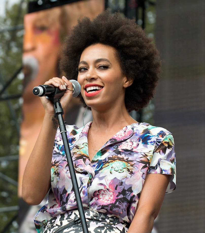 """F--k the Industry - Following her sophomore LP, Solange released a mixtape titled I Can't Get Clearance…, which included a bold track """"F--k the Industry (Signed Sincerely),"""" which leaked onto the Internet mysteriously. In the track, the opinionated singer candidly expresses her views on the state of the music industry at the time. Though the mixtape never saw the light of day, the song was released as a single in 2010.(Photo: Splash News)"""