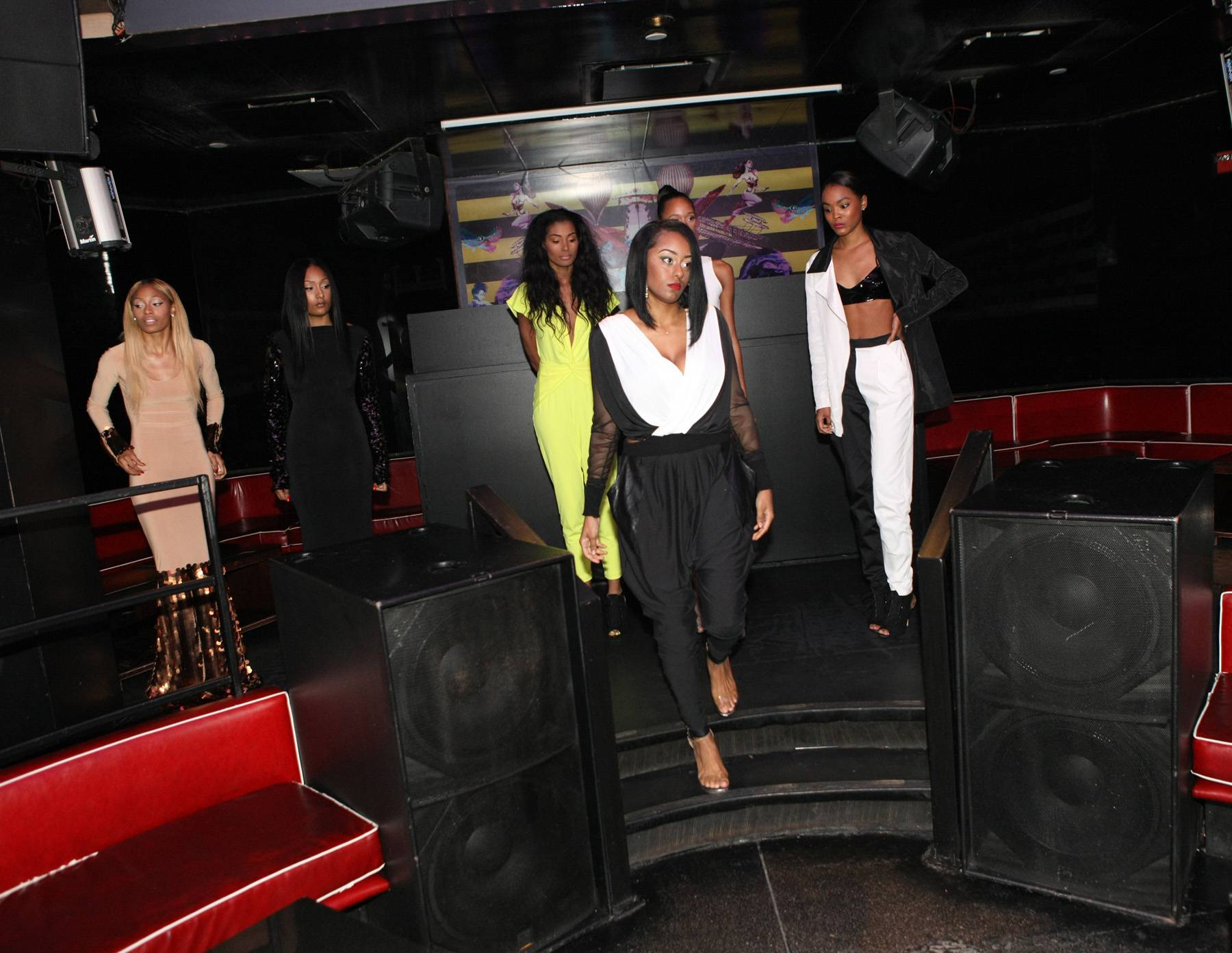 Runway - The models get ready to rip it on 106. (Photo: Bennett Raglin/BET/Getty Images for BET)