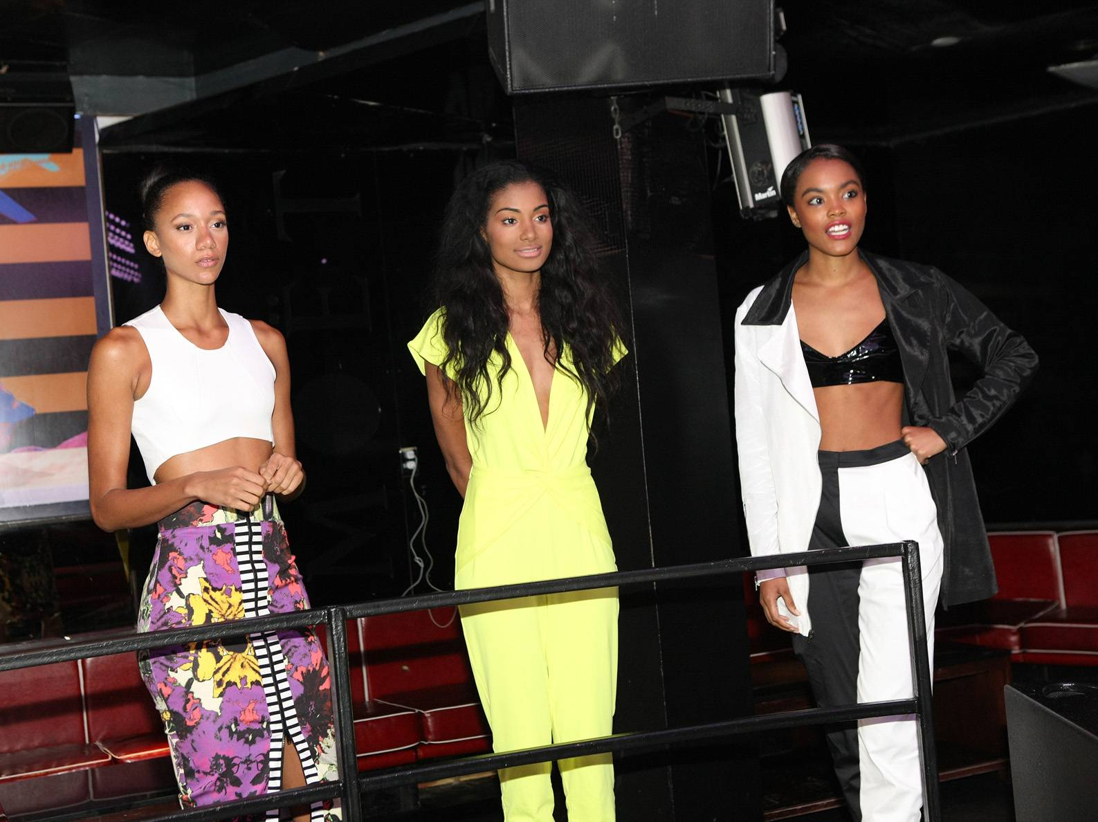Model Behavior - The models pose backstage while on the set of 106. (Photo: Bennett Raglin/BET/Getty Images for BET)