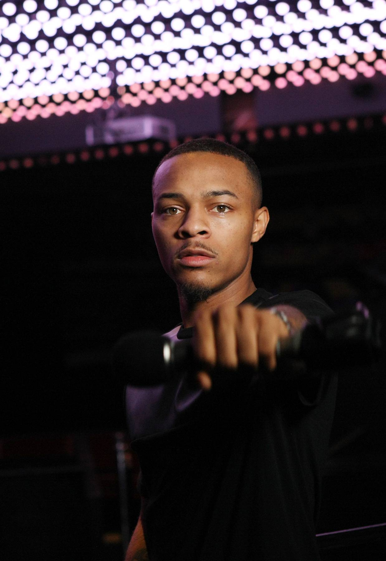 Powerful - Bow Wow keeps it powerful in this pic.(Photo: Bennett Raglin/BET/Getty Images for BET)